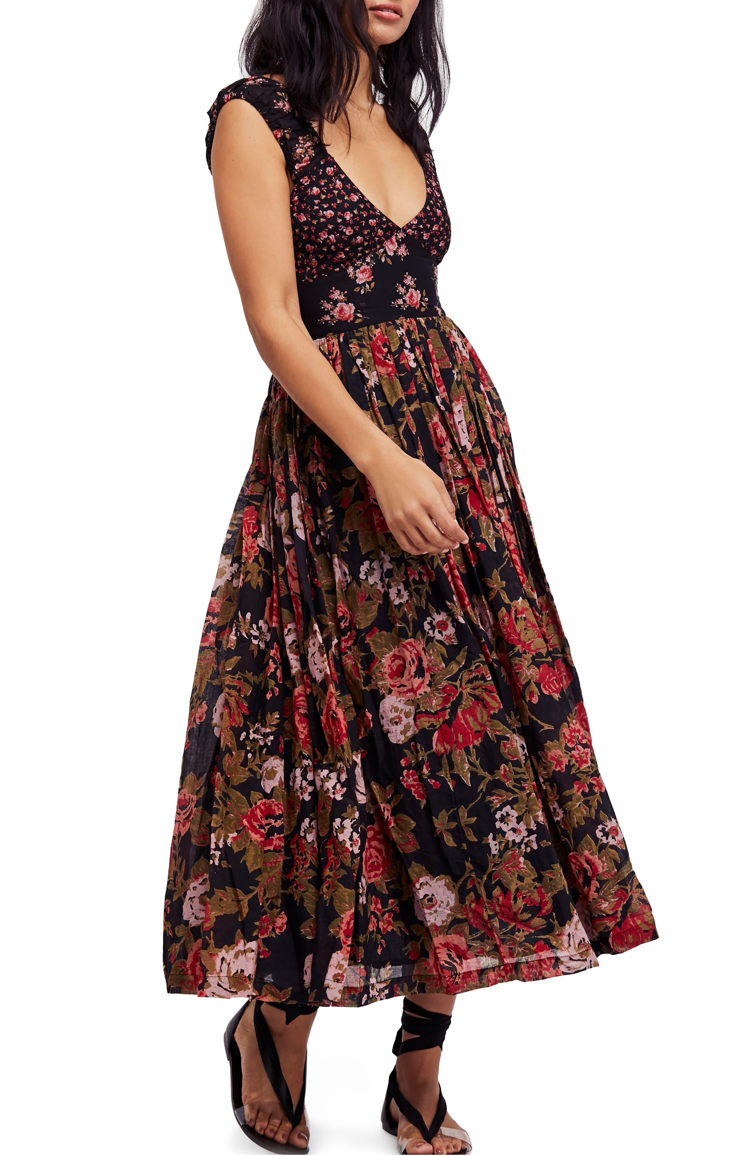 Love You Midi Dress,                             Main thumbnail 1, color,                             001