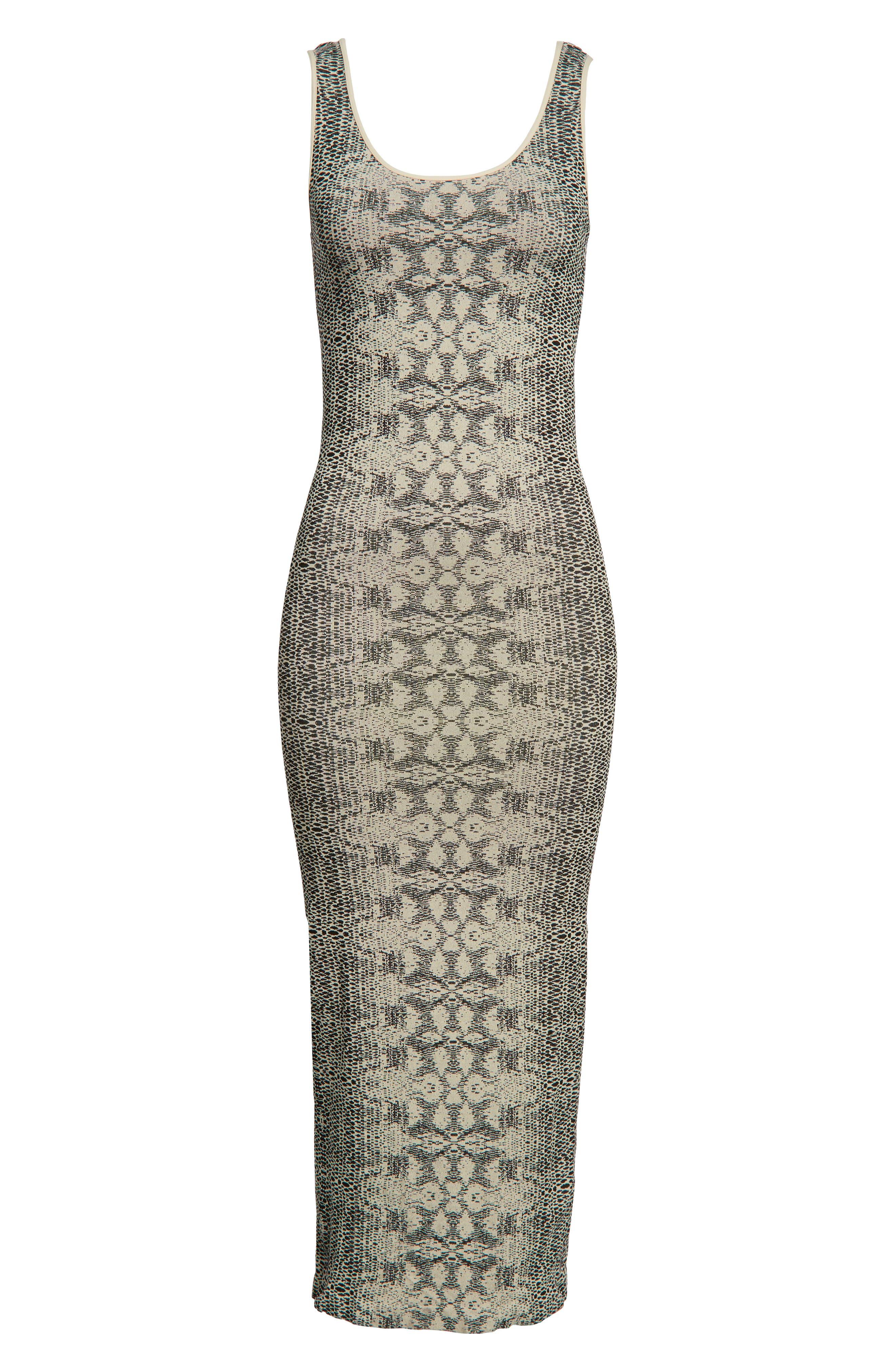 Snake Print Maternity Maxi Dress,                             Alternate thumbnail 6, color,                             900