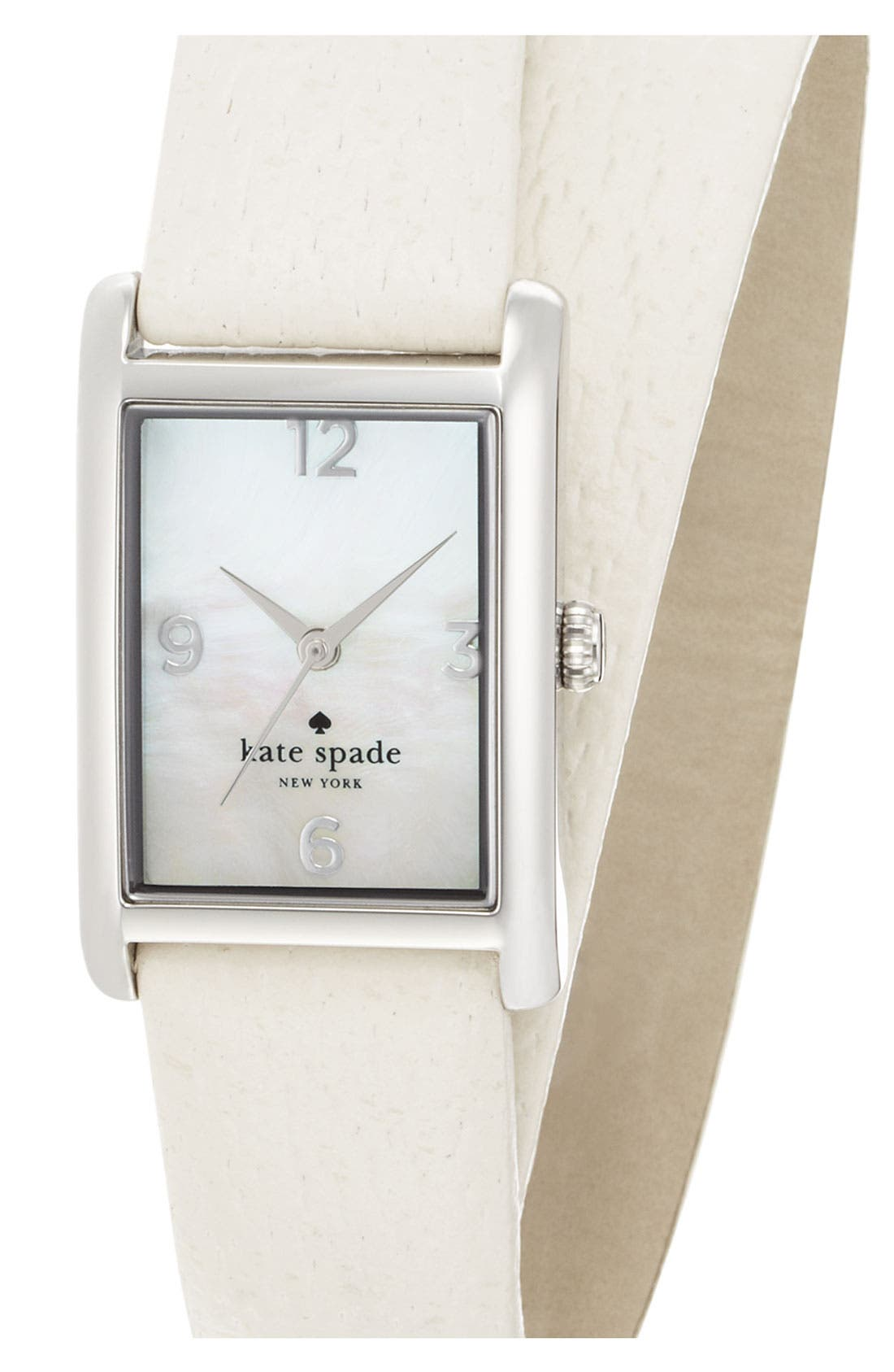 'cooper' leather strap watch, 21mm x 32mm,                             Main thumbnail 4, color,