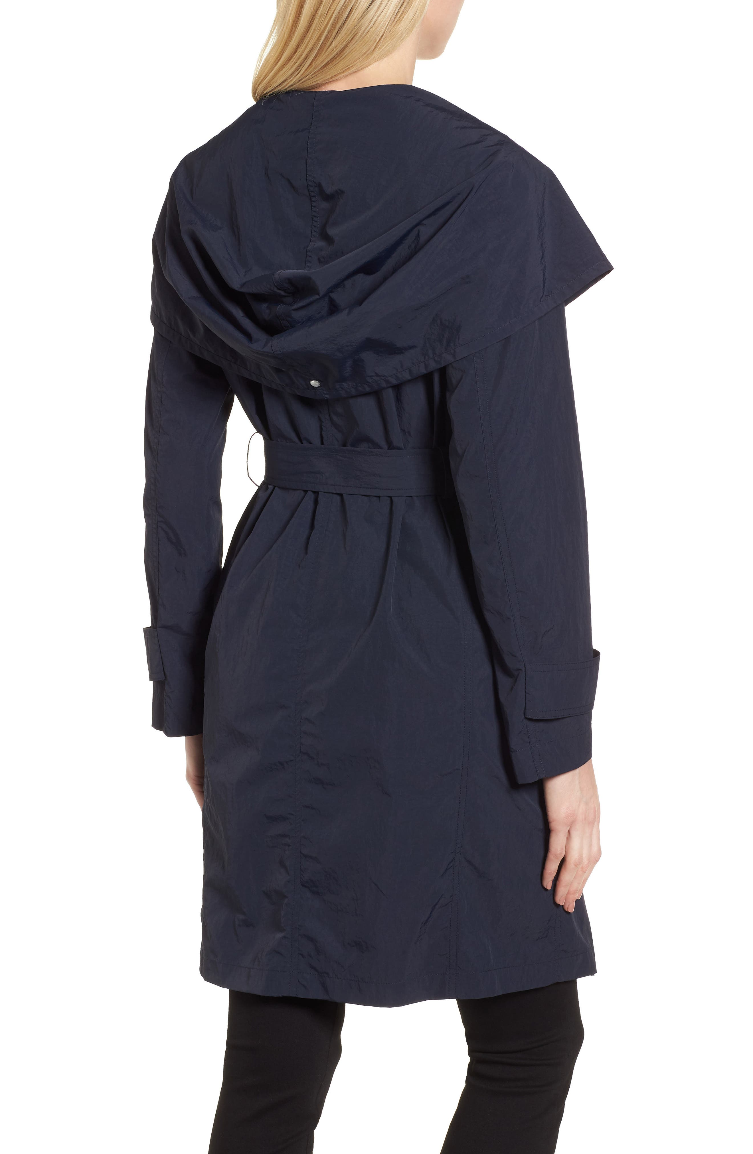 Flo Packable Hooded Raincoat,                             Alternate thumbnail 2, color,                             250