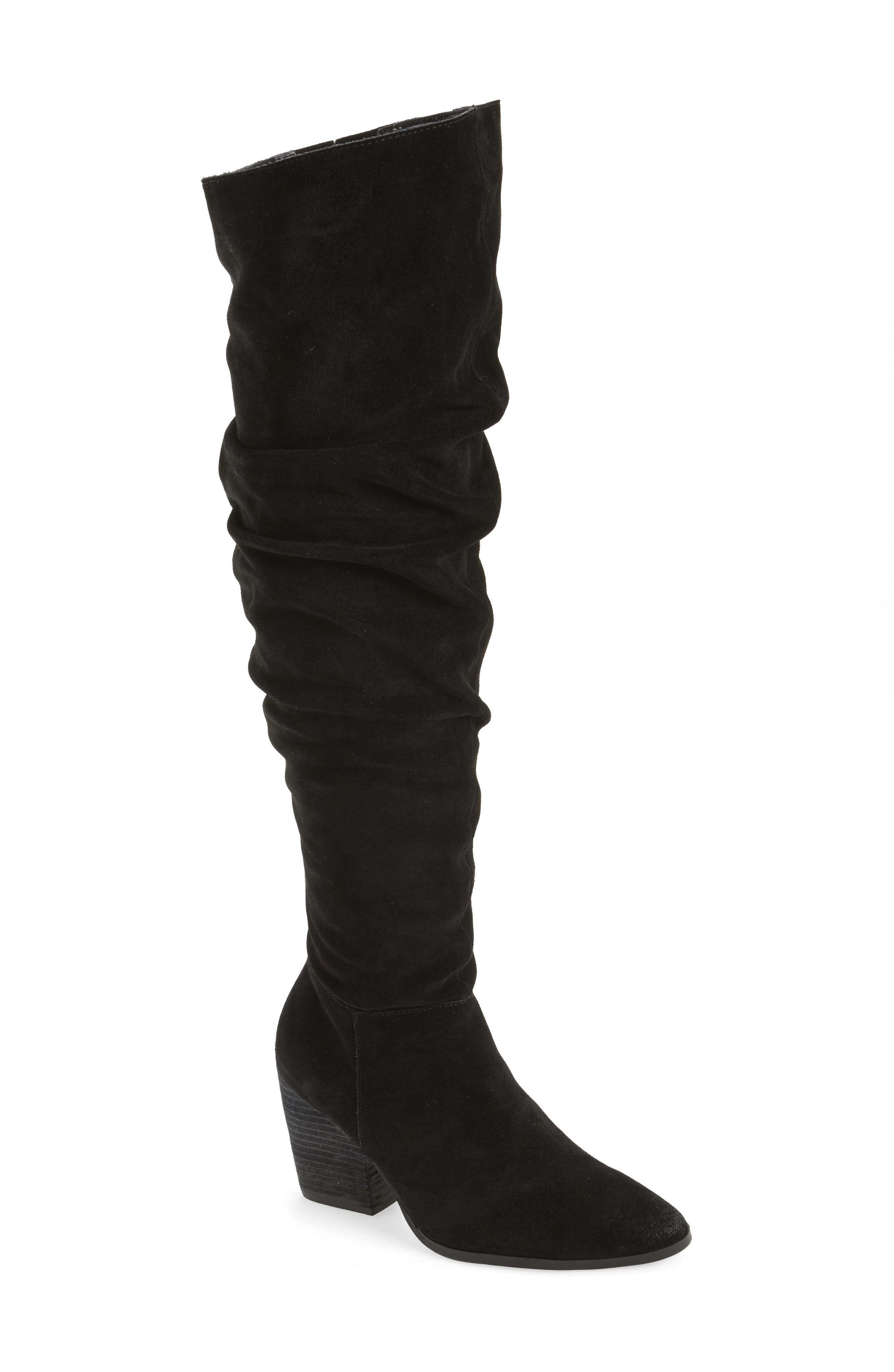 Noelle Over the Knee Boot,                             Main thumbnail 1, color,                             001