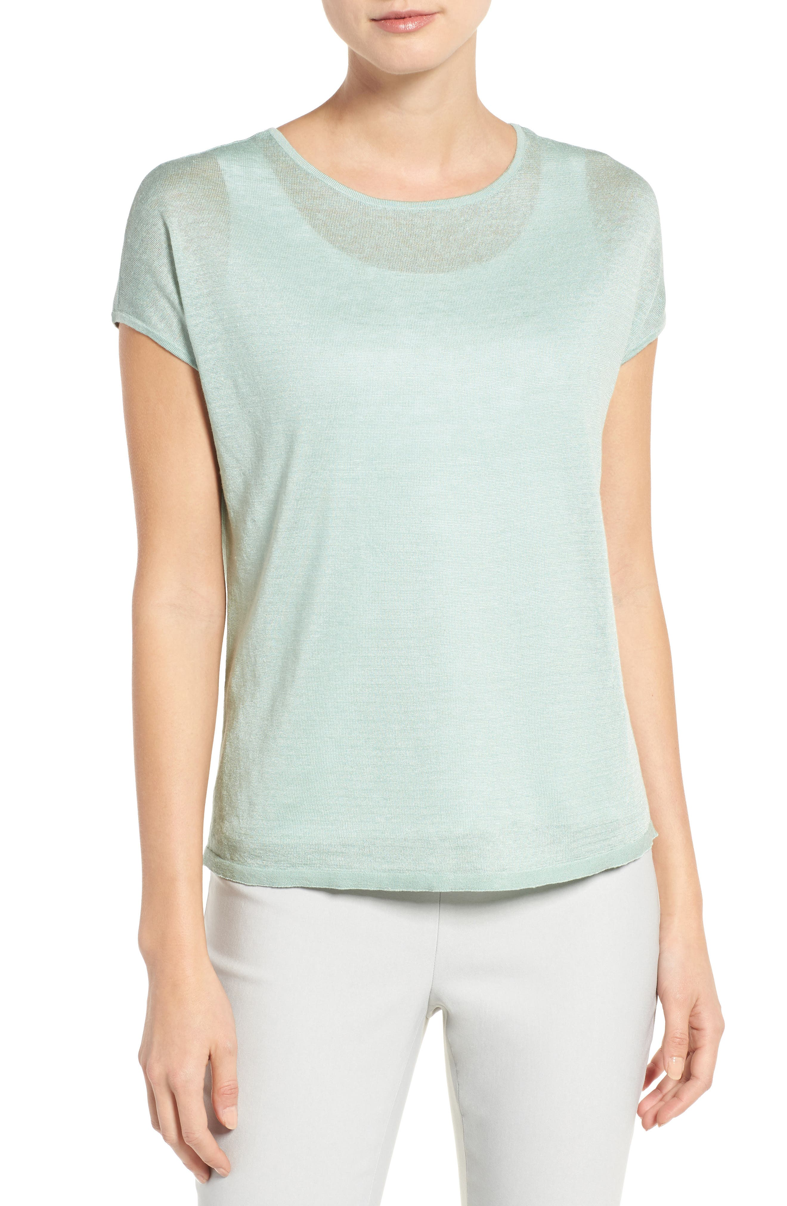 Everyday Tissue Weight Tee,                             Main thumbnail 3, color,