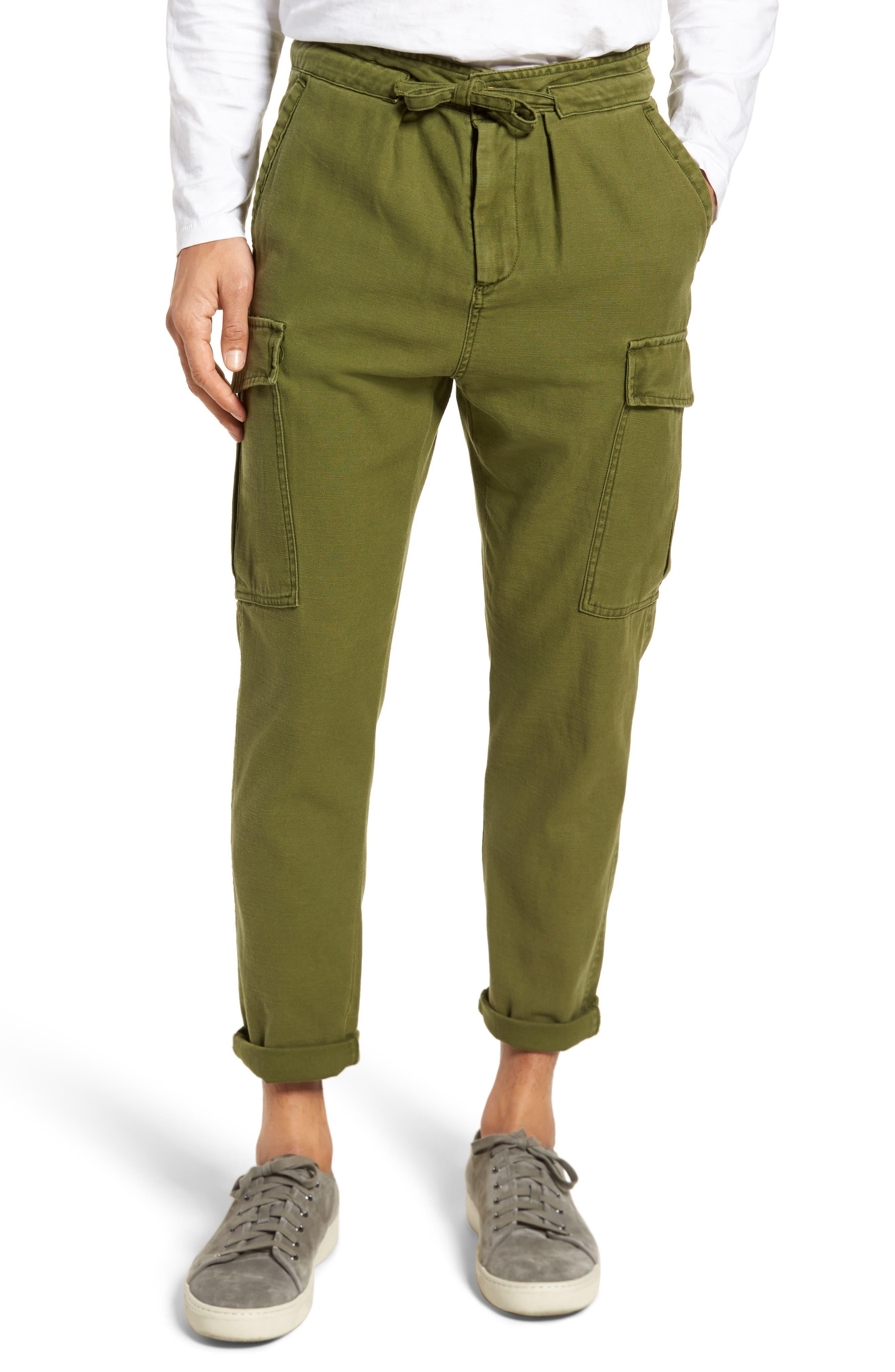 Canvas Cargo Pants,                         Main,                         color,