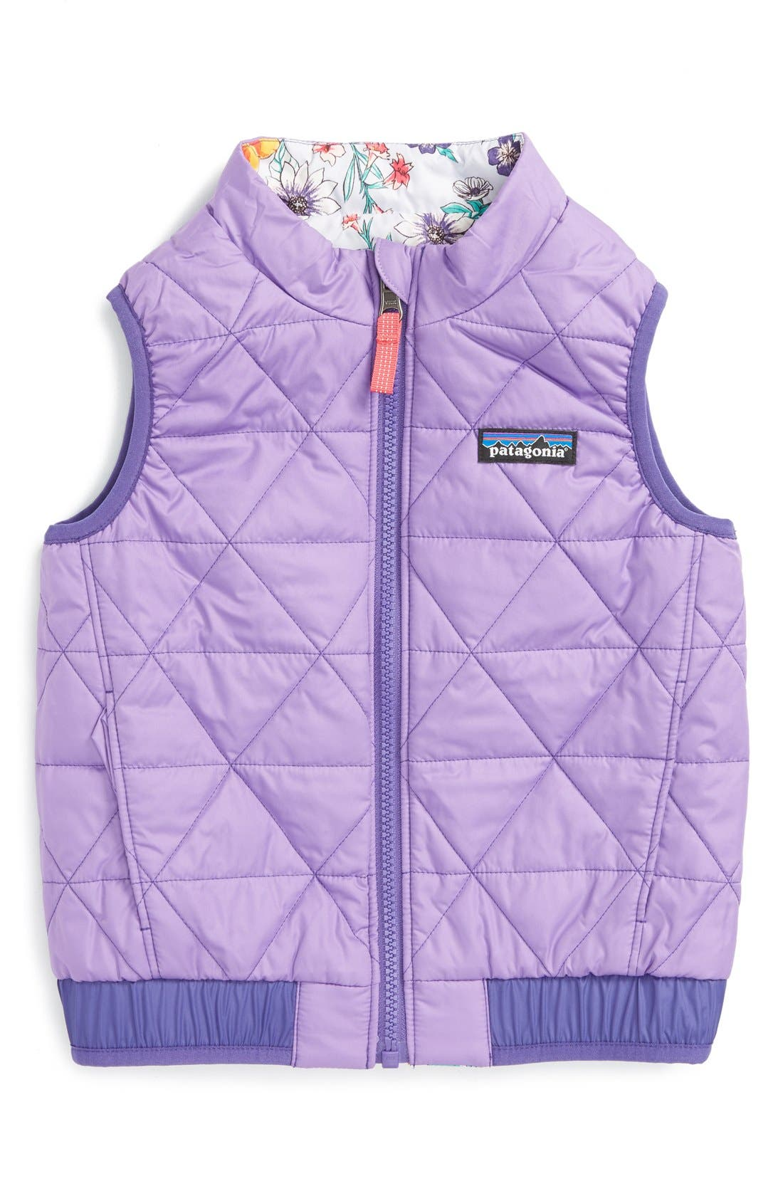 'Puff-Ball' Water Resistant Reversible Vest,                             Alternate thumbnail 14, color,