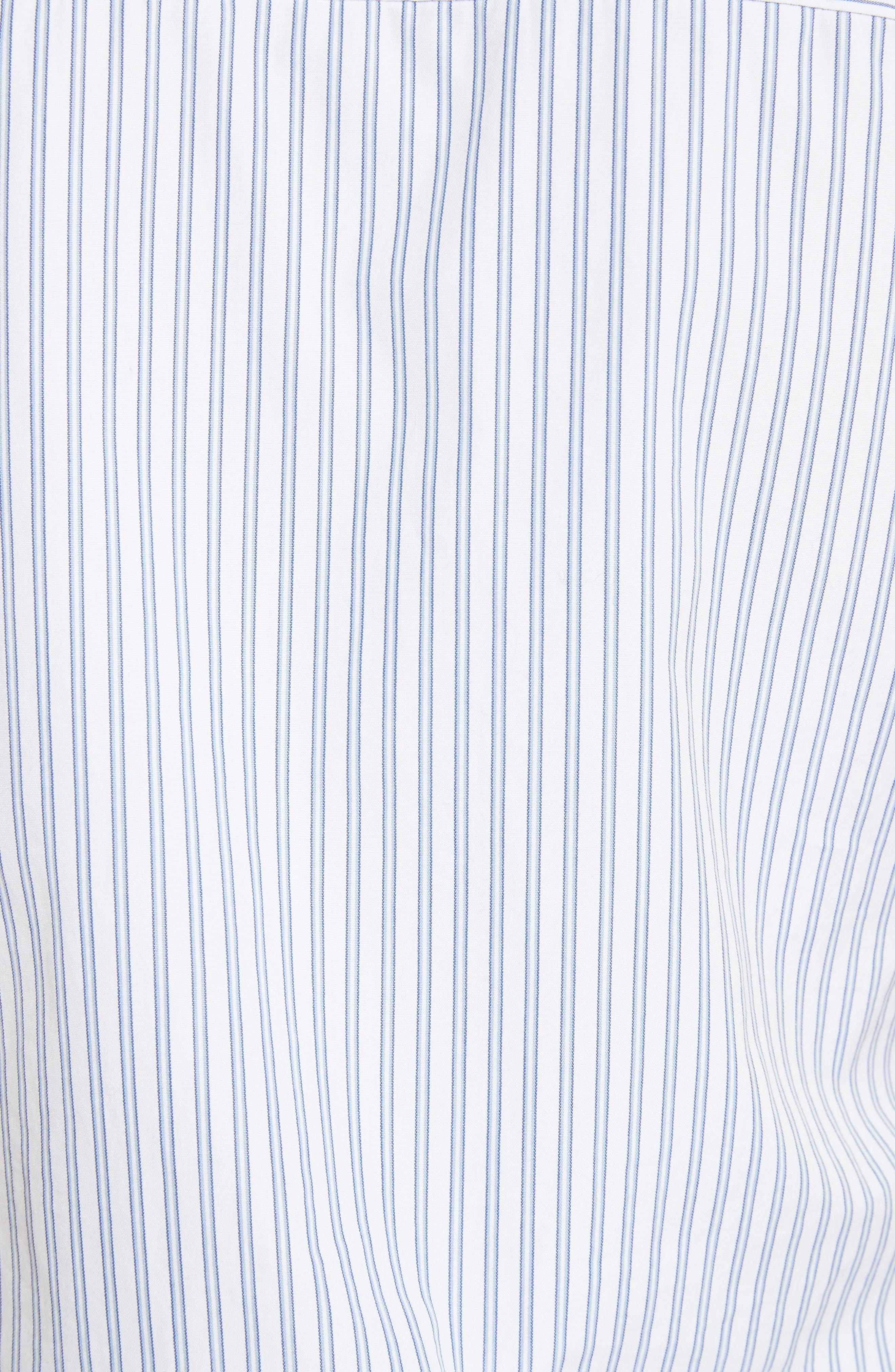 Alexander Wang Deconstructed Poplin Shirtdress,                             Alternate thumbnail 5, color,