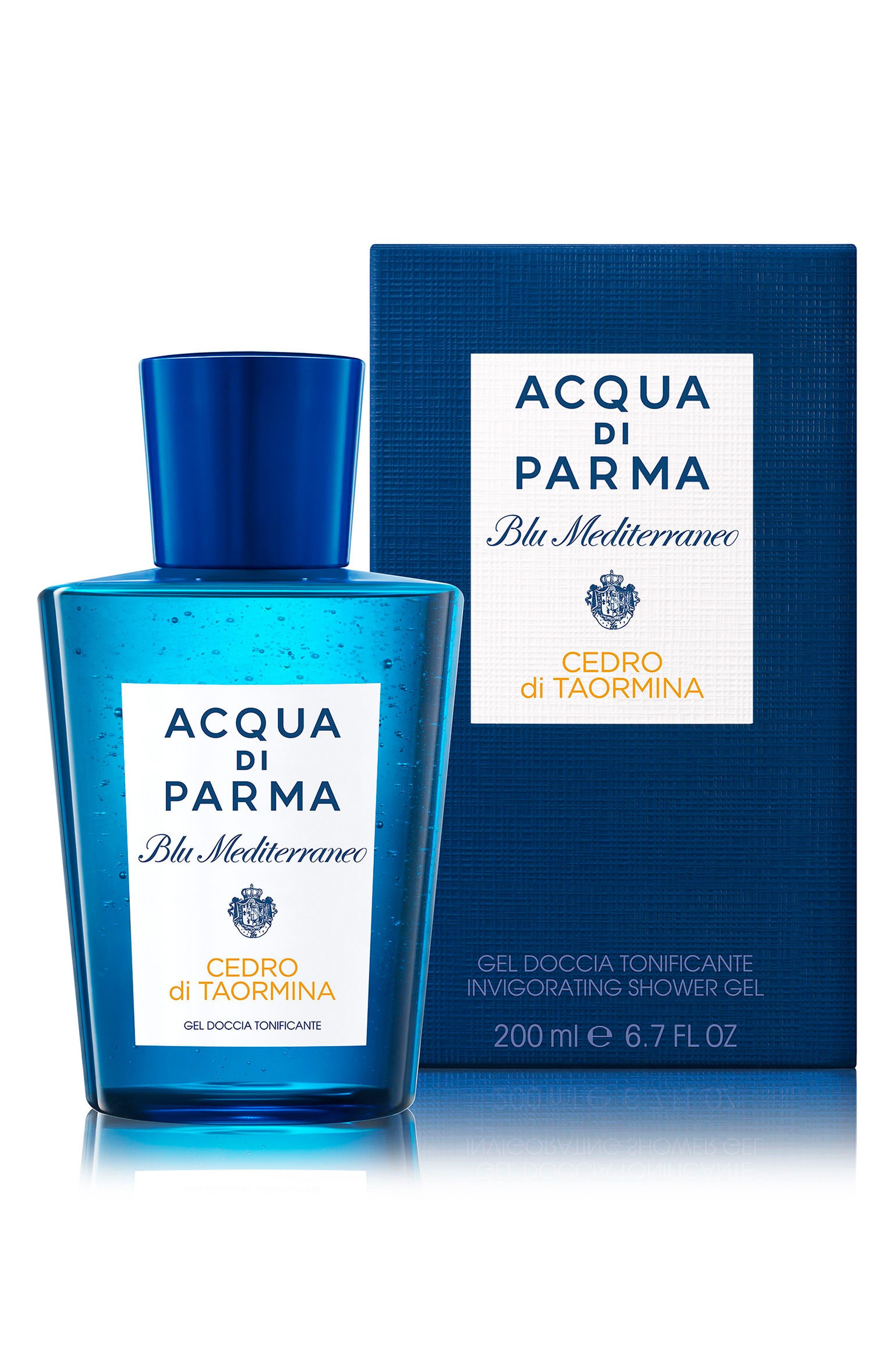 Blu Mediterraneo Cedro di Taormina Invigorating Shower Gel,                             Alternate thumbnail 3, color,                             NO COLOR