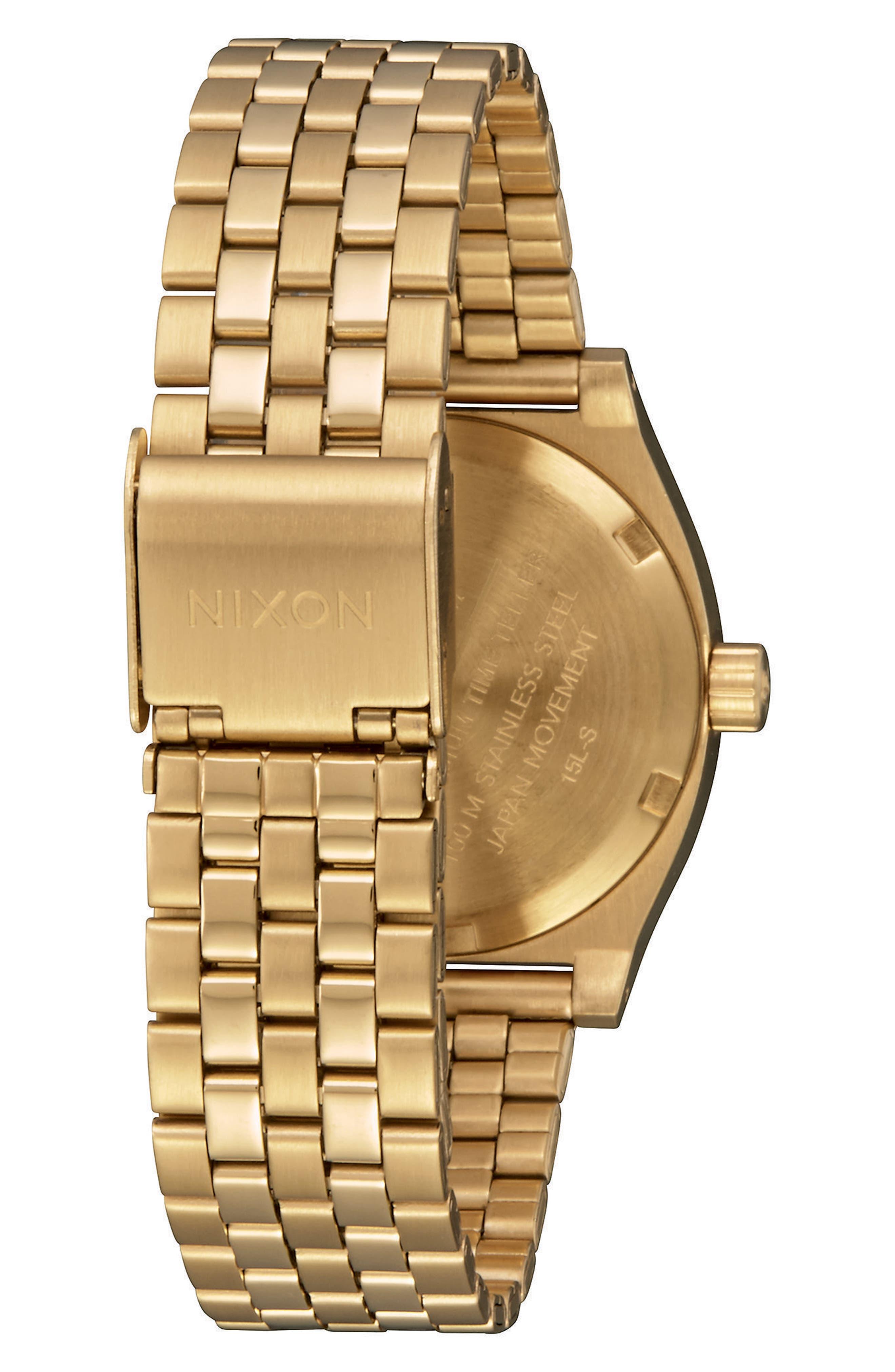 Time Teller Bracelet Watch, 31mm,                             Alternate thumbnail 2, color,                             GOLD
