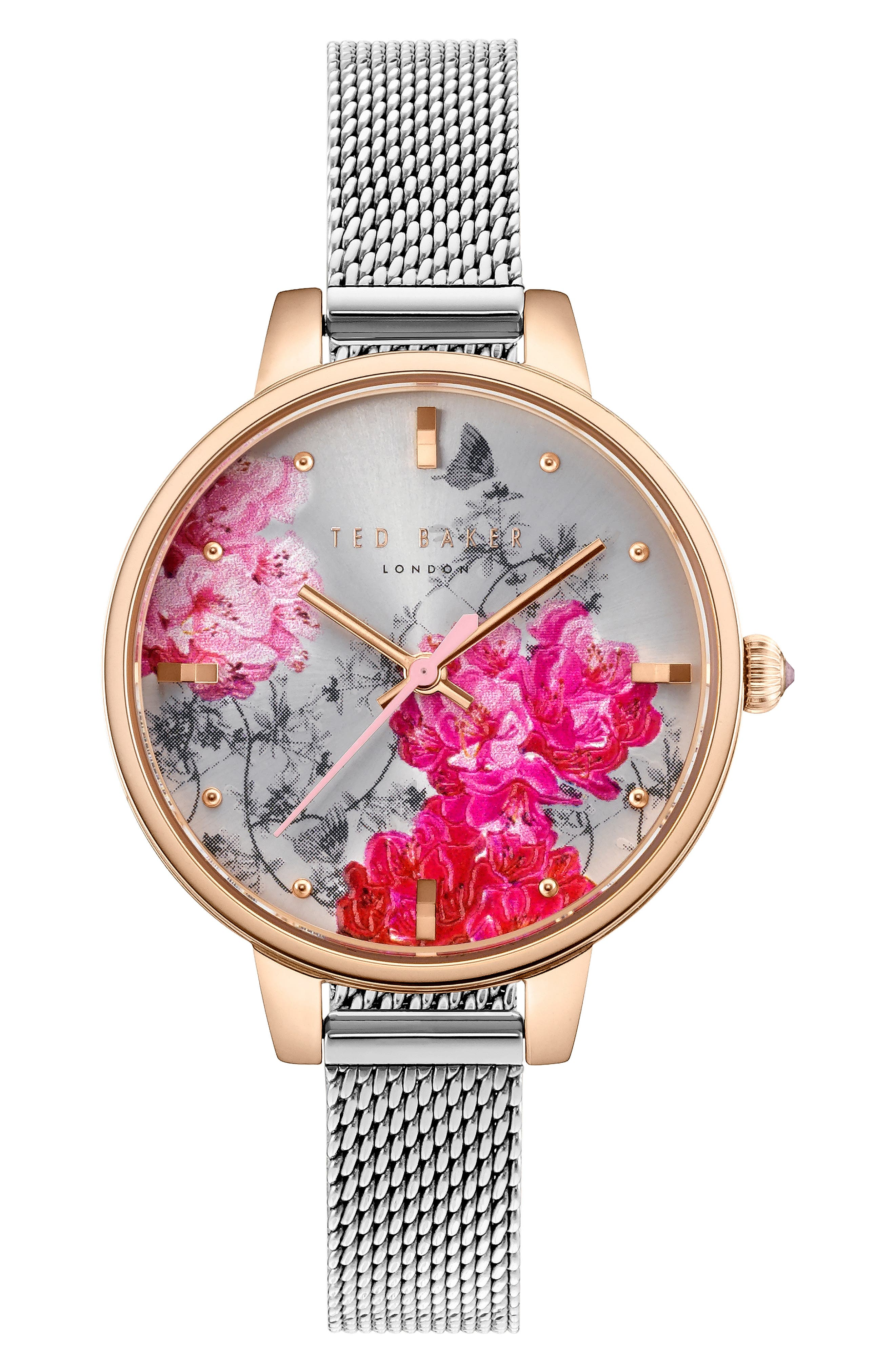 Kate Mesh Strap Watch, 32mm,                         Main,                         color, 040