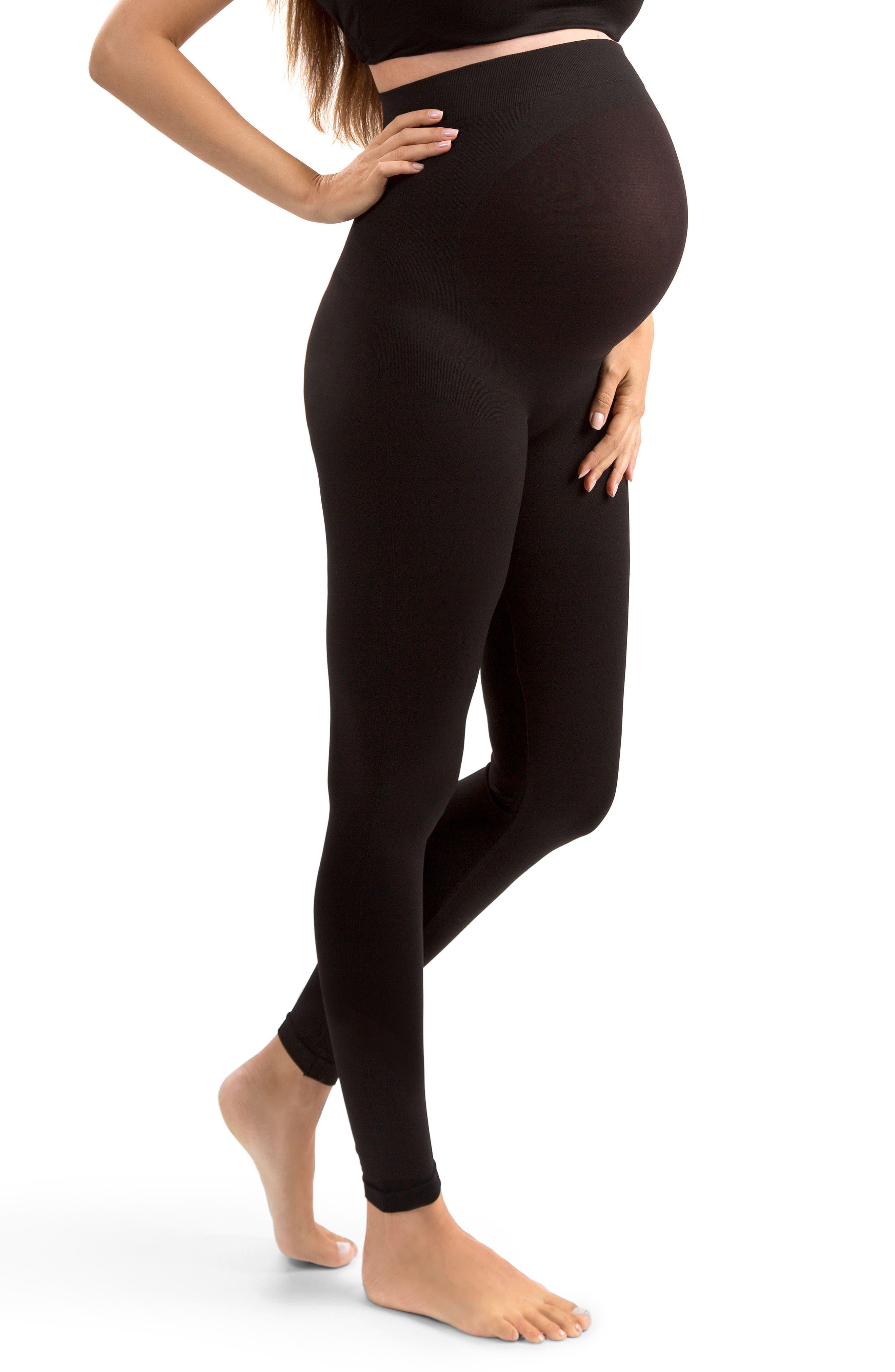 Everyday Maternity Leggings,                         Main,                         color, BLACK