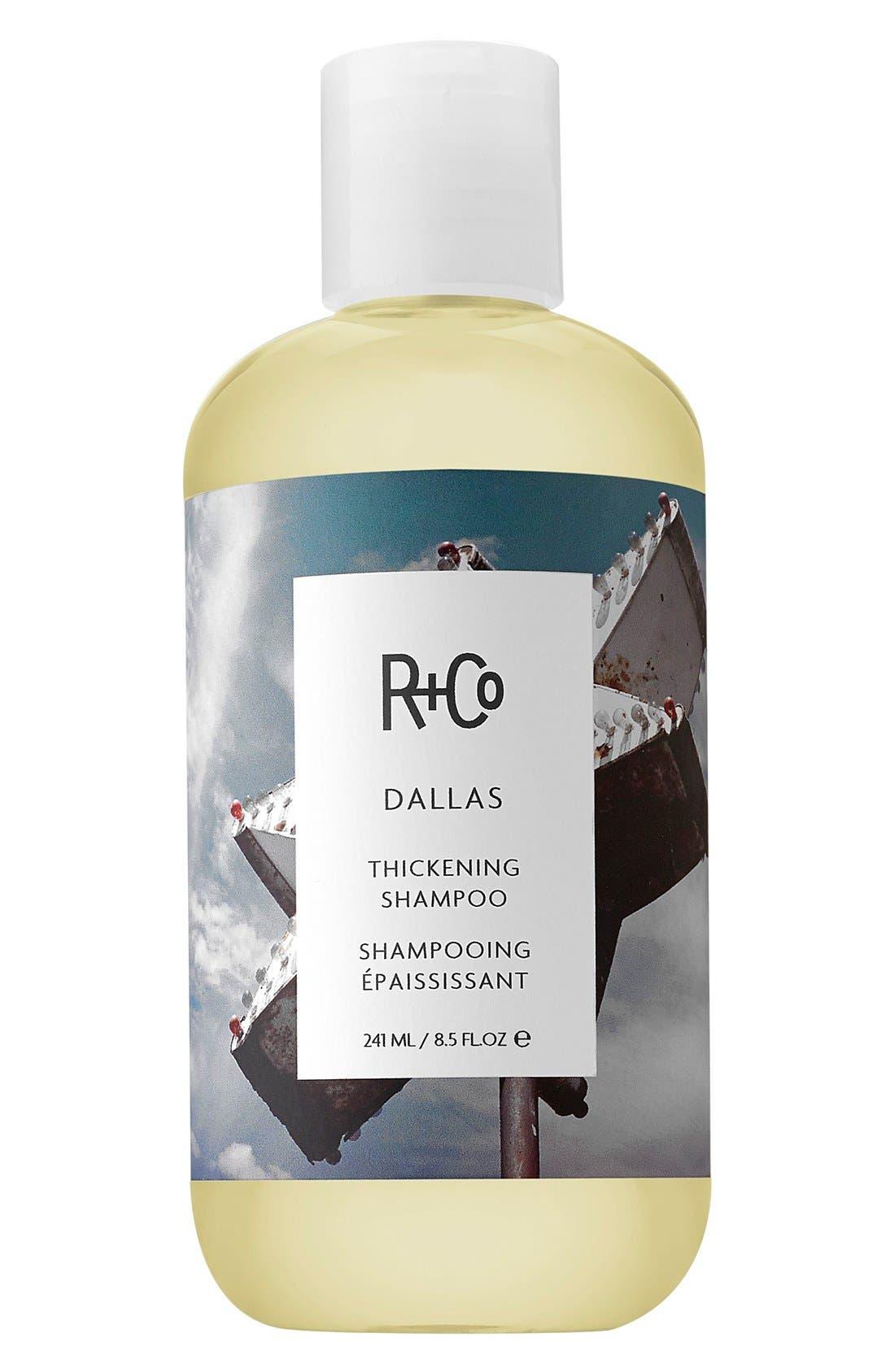 SPACE.NK.apothecary R+Co Dallas Thickening Shampoo,                             Main thumbnail 1, color,                             NO COLOR
