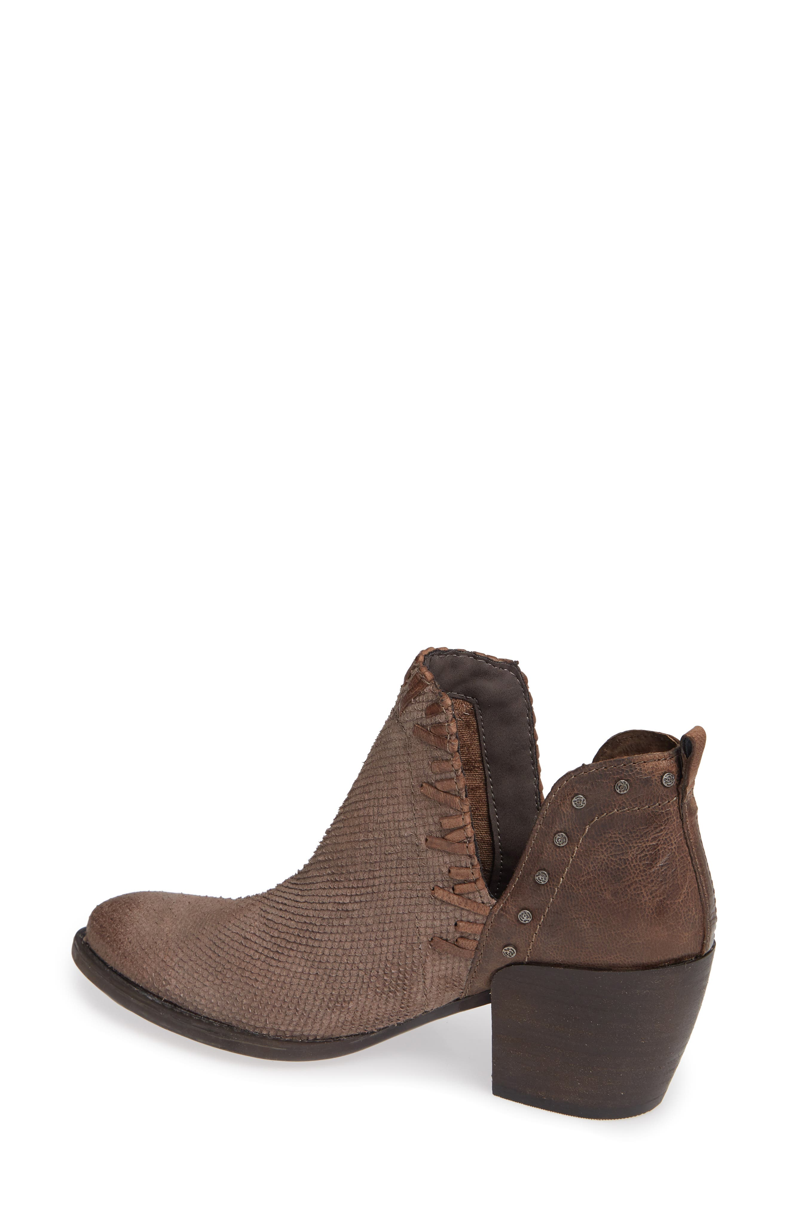 Santa Fe Ankle Bootie,                             Alternate thumbnail 2, color,                             CINDER LEATHER