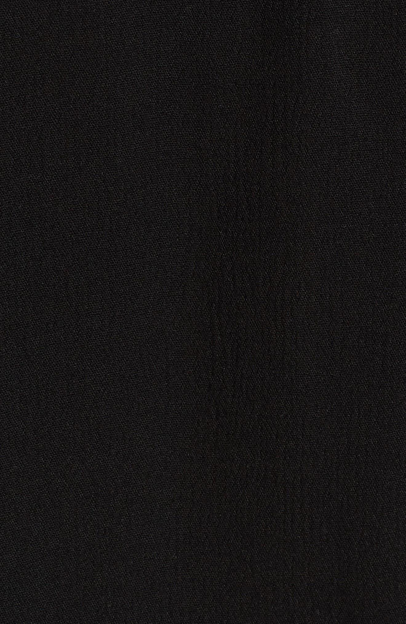 Amanda Peasant Top,                             Alternate thumbnail 6, color,                             003