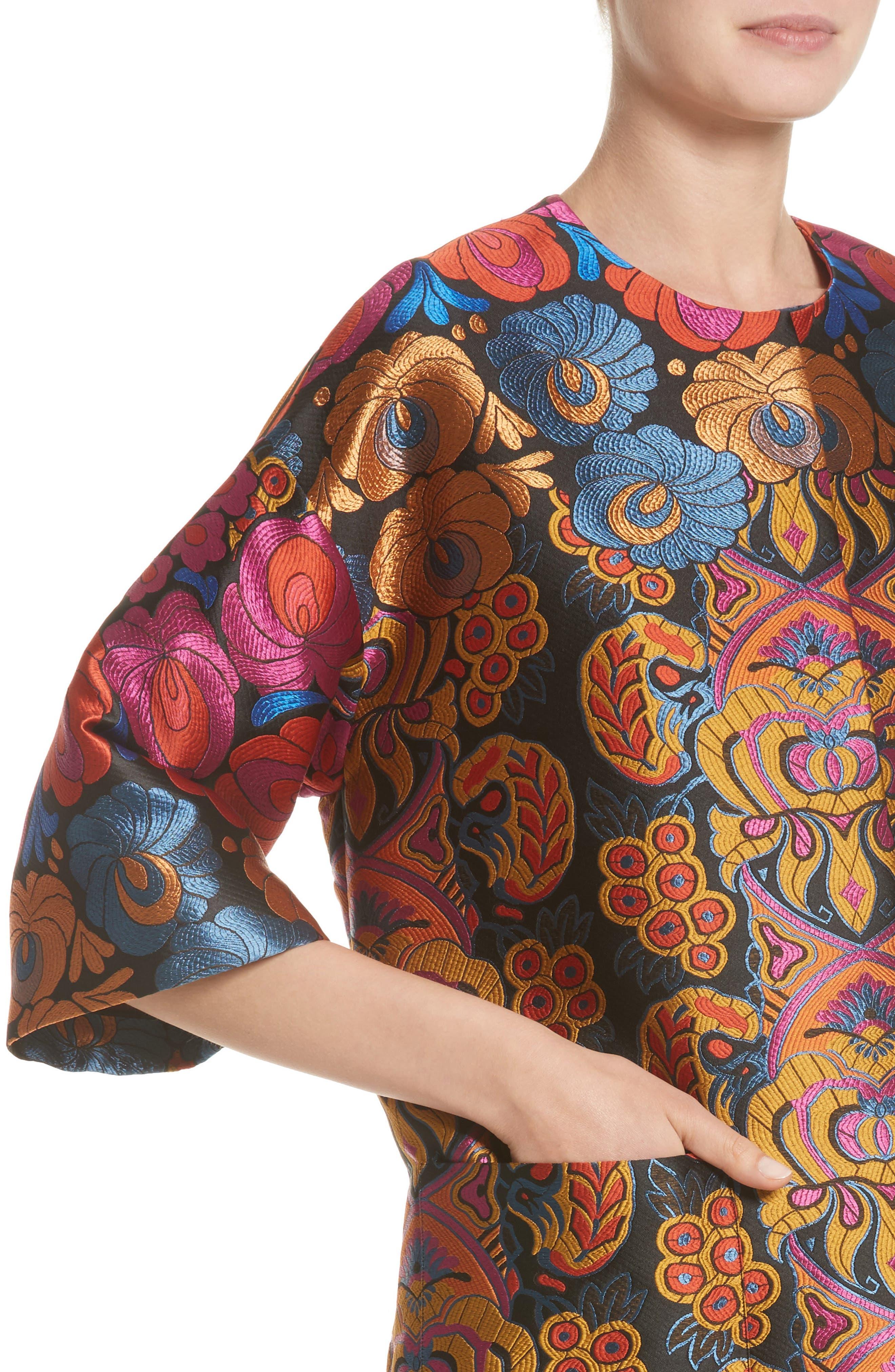 Brocade Topper,                             Alternate thumbnail 4, color,                             001