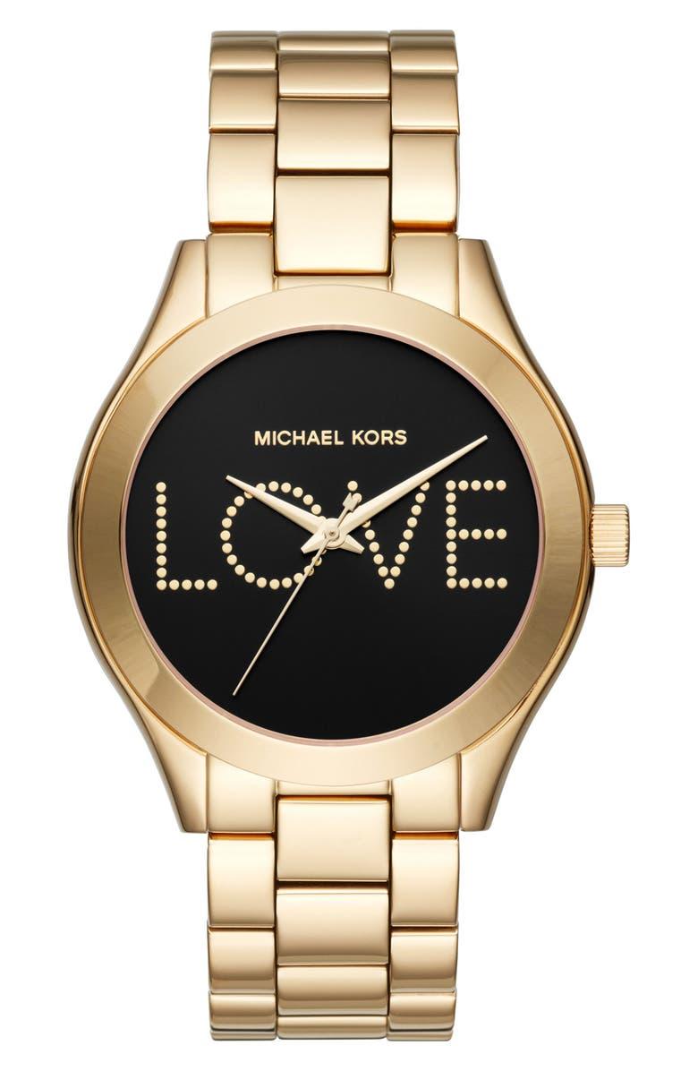 Slim Runway Love Bracelet Watch 42mm