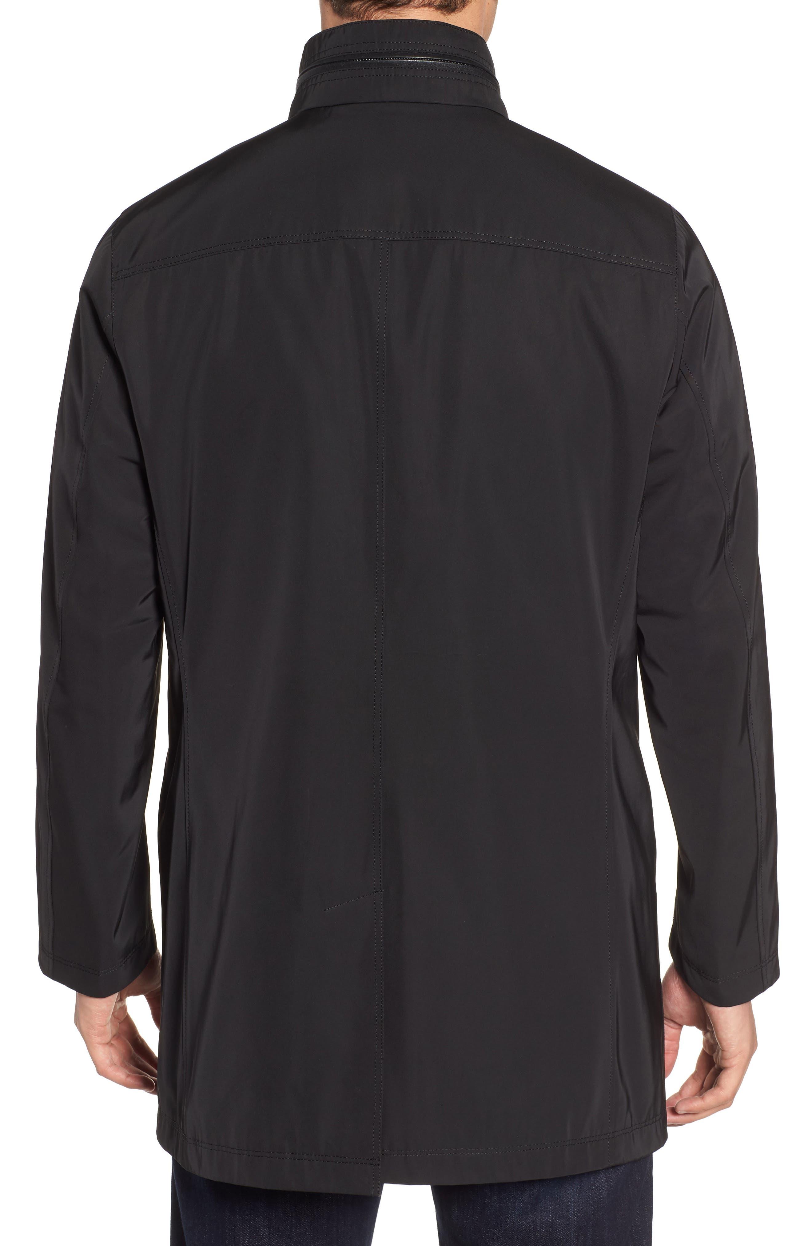 Hardy Getaway Raincoat,                             Alternate thumbnail 2, color,                             BLACK