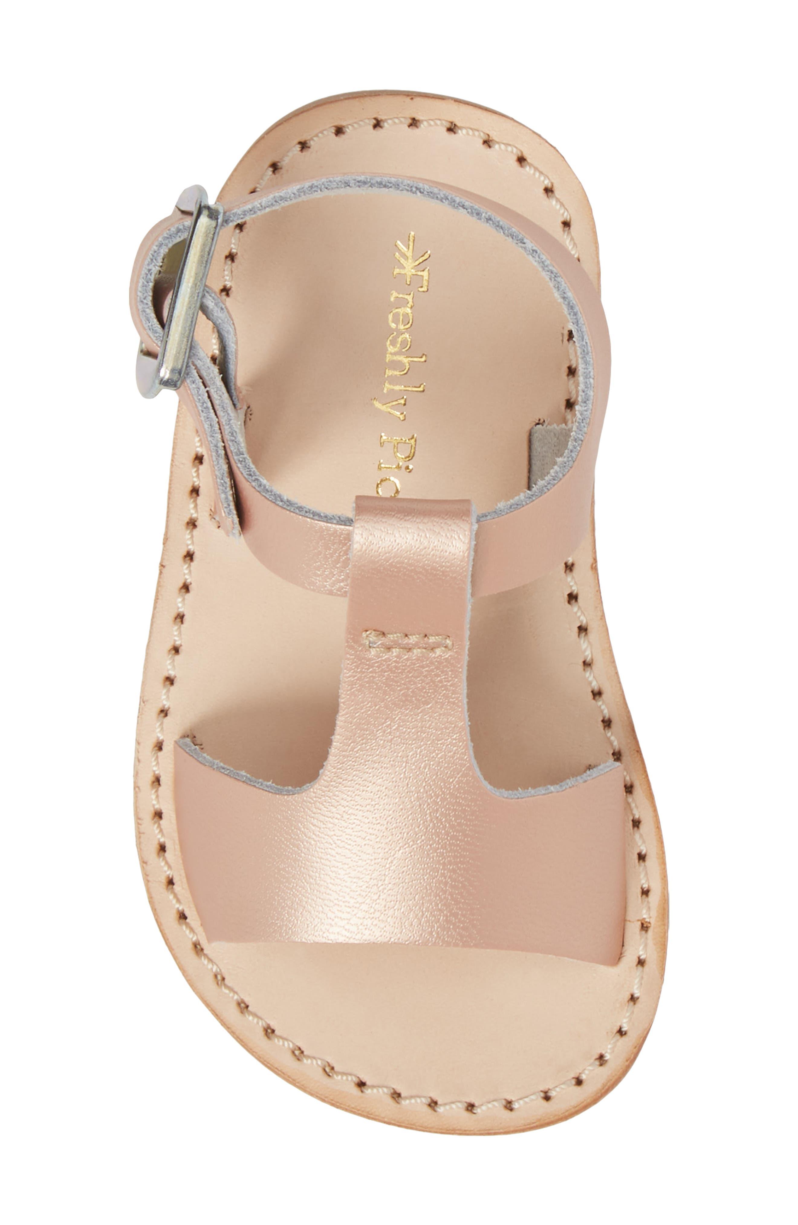Malibu Water Resistant Sandal,                             Alternate thumbnail 5, color,                             ROSE GOLD