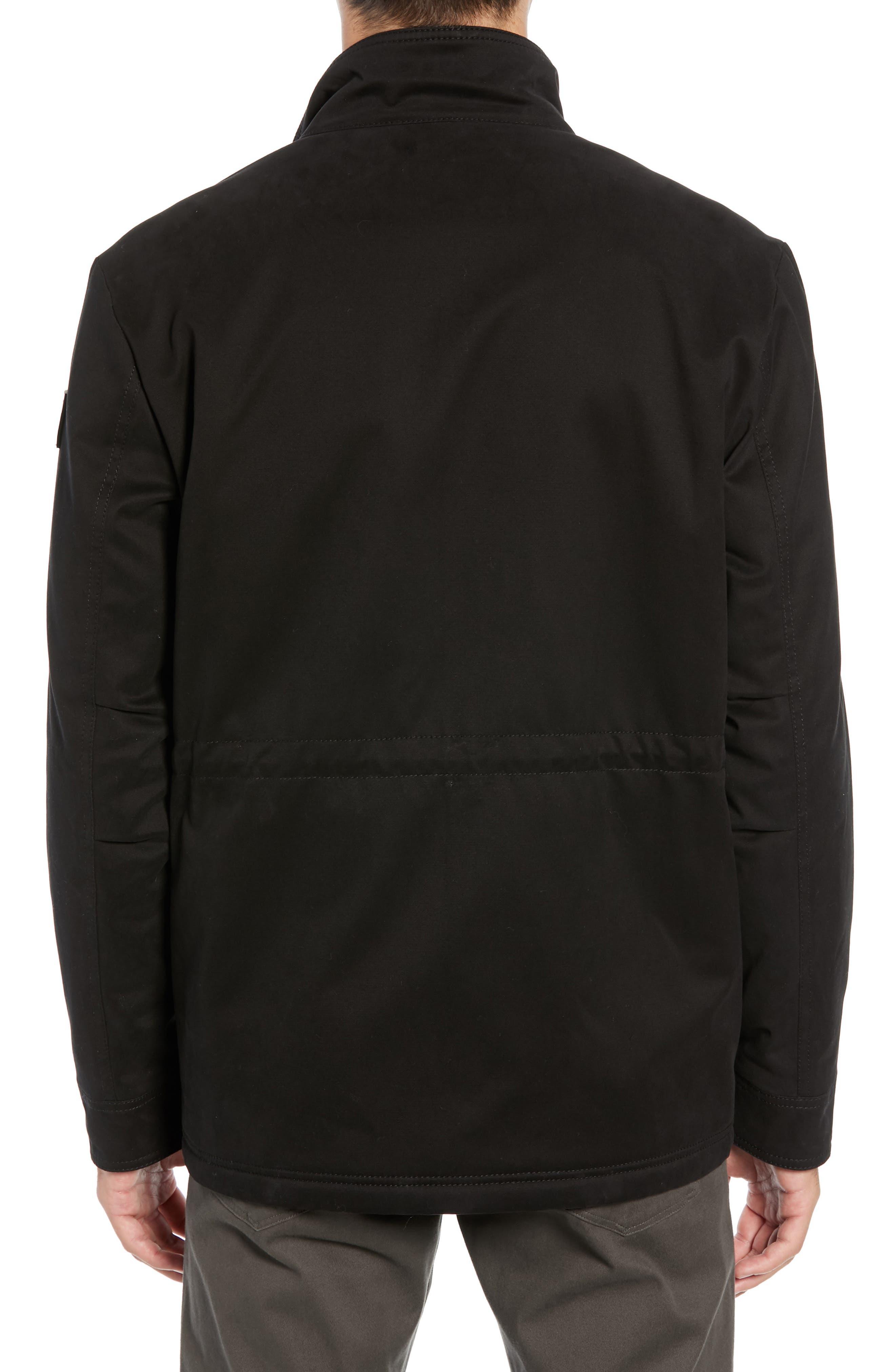 Oroy Regular Fit Field Jacket,                             Alternate thumbnail 2, color,                             BLACK