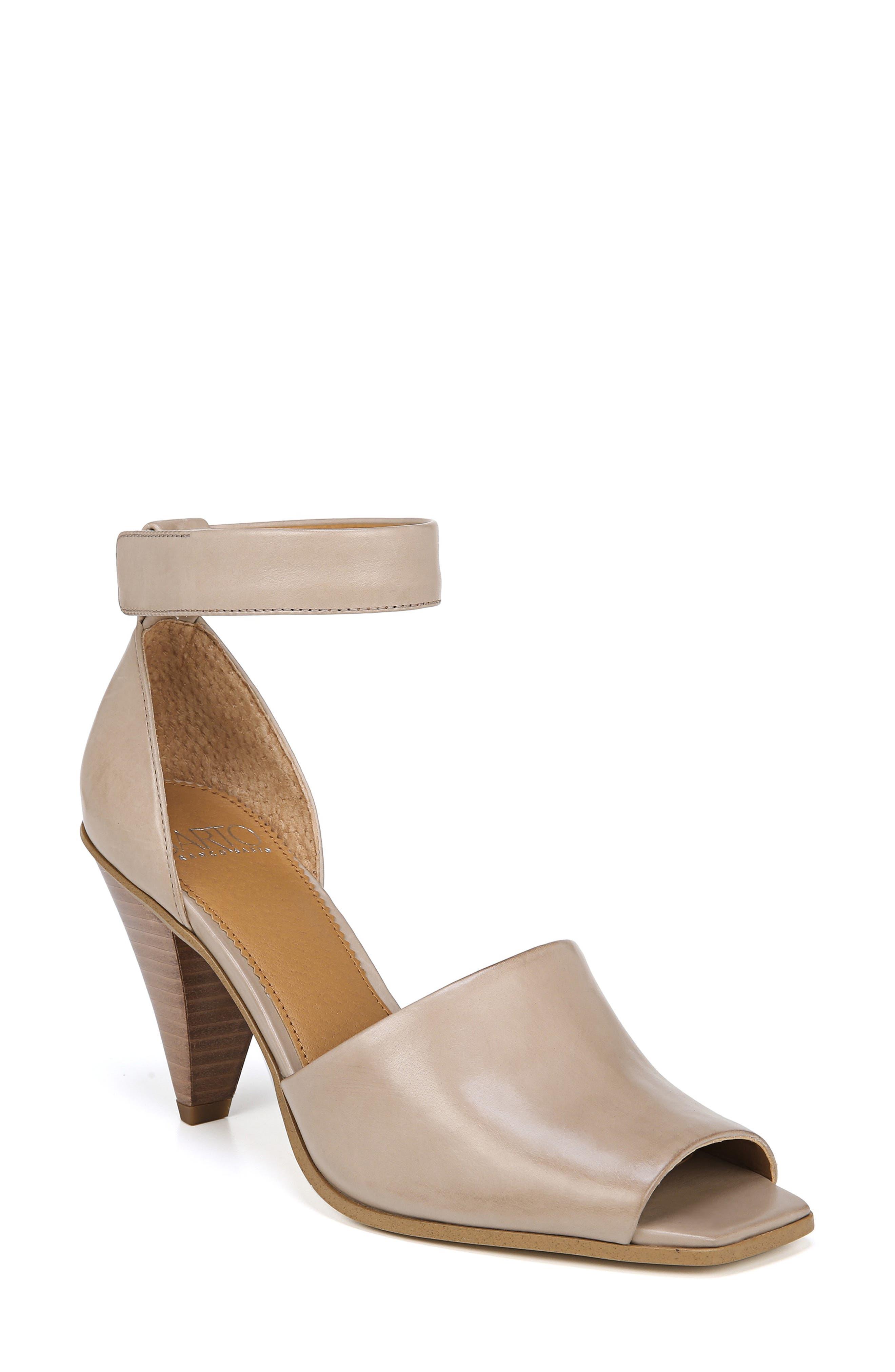 Sarto By Franco Sarto Ankle Strap Sandal, Brown