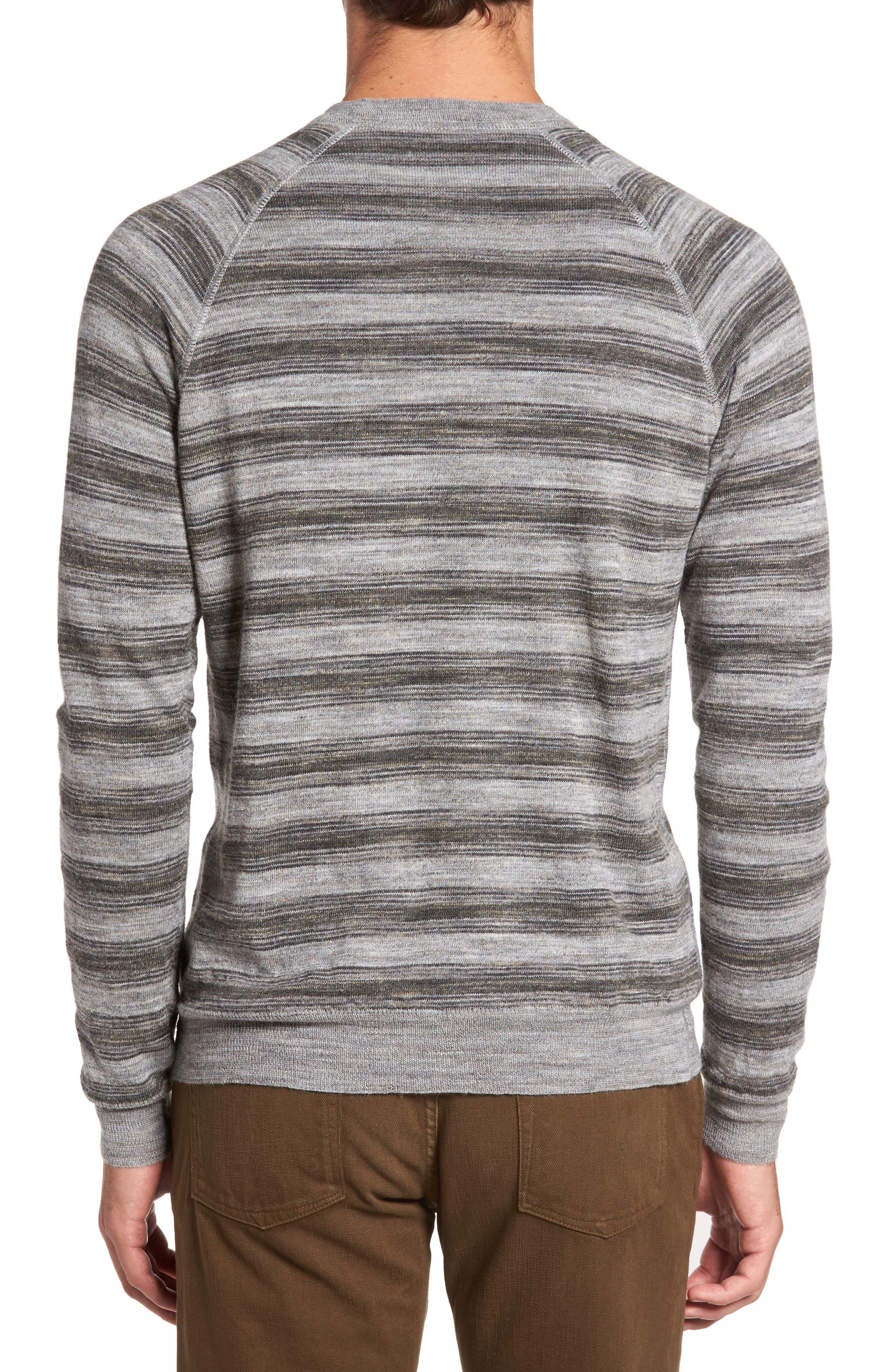 Reverse Stripe Sweater,                             Alternate thumbnail 2, color,                             036