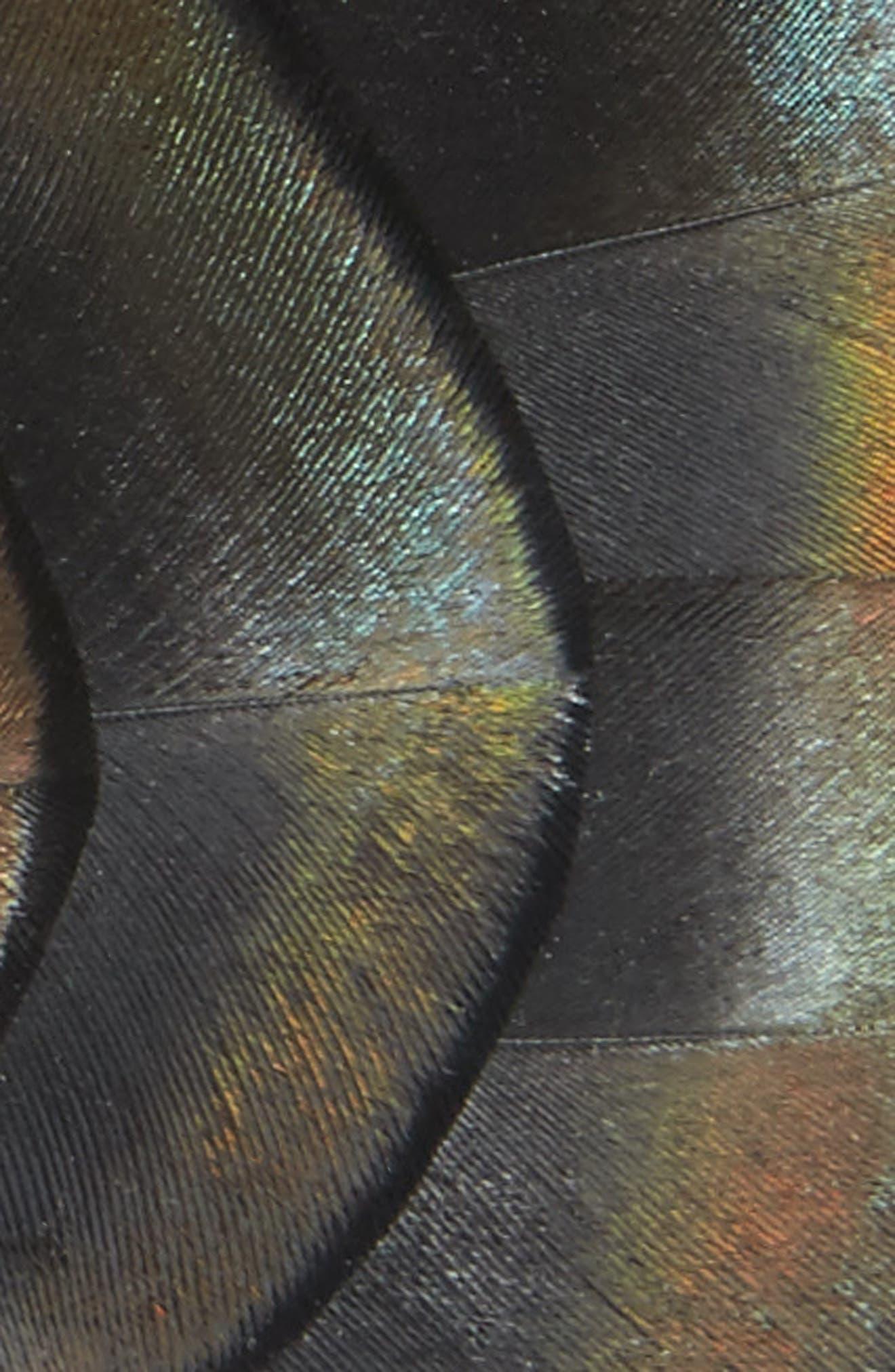 Original Feather Bow Tie,                             Alternate thumbnail 2, color,                             COPPER