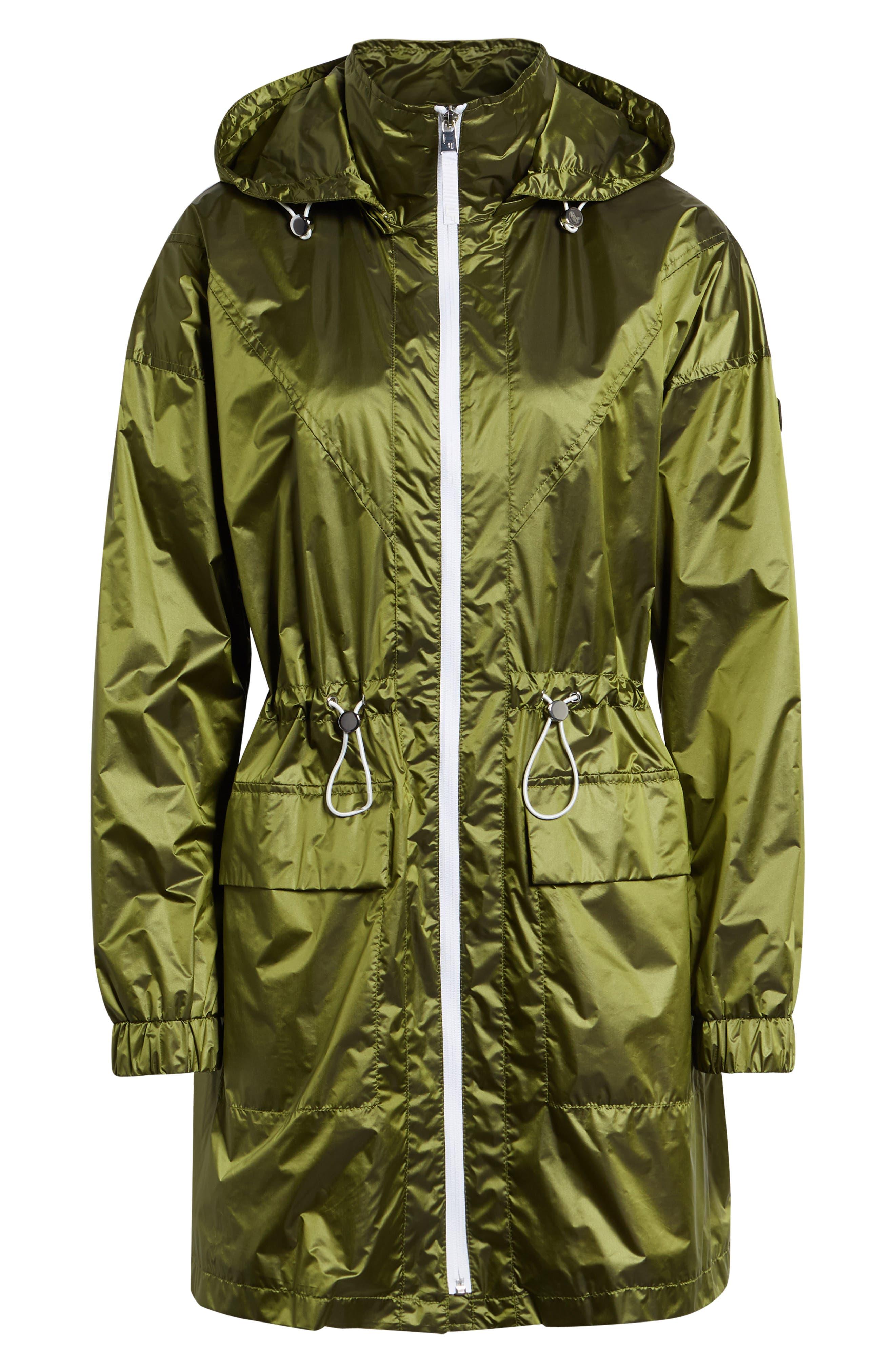Contrast Zip Anorak Jacket,                             Alternate thumbnail 10, color,