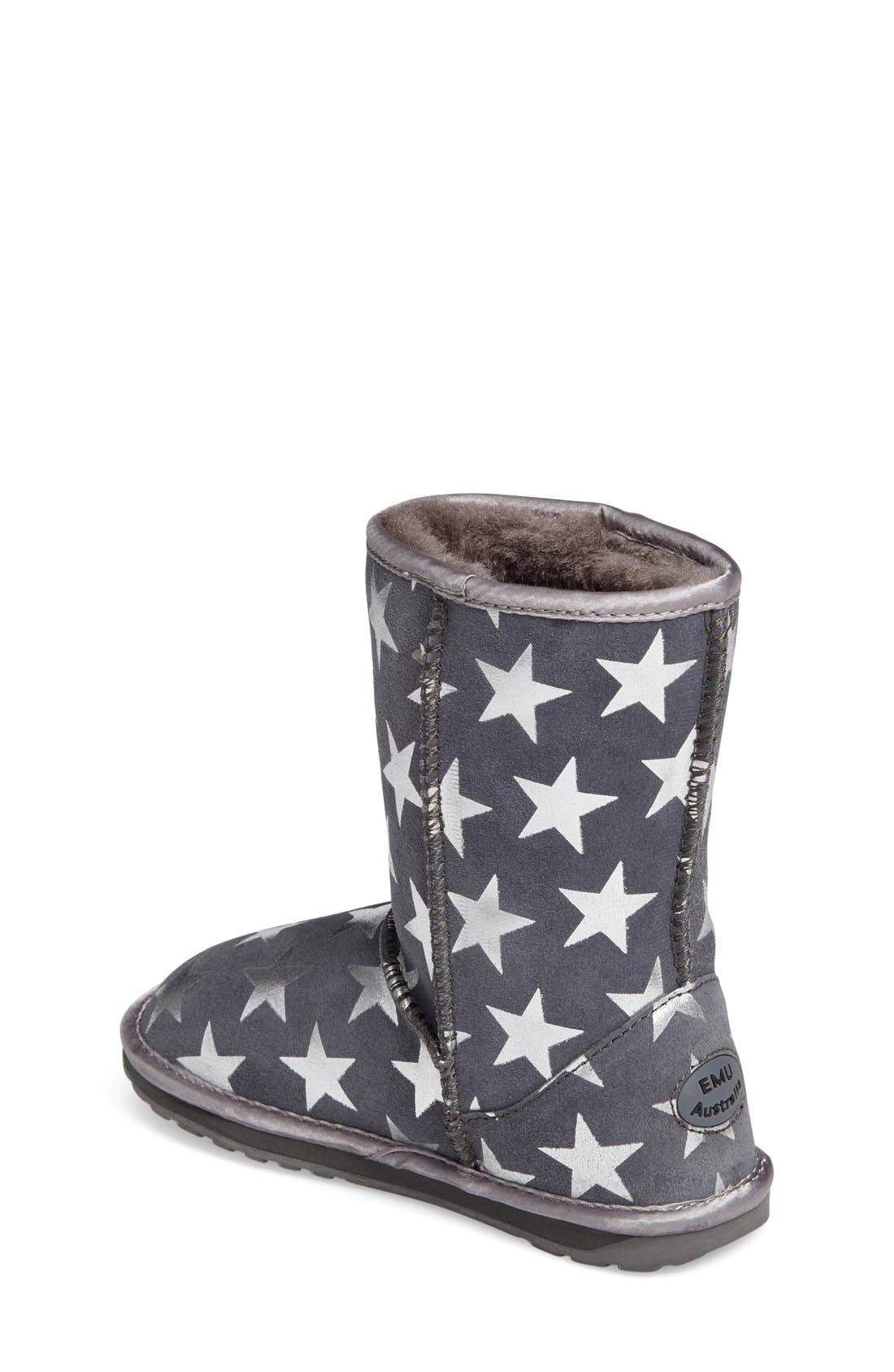 EMUAustralia Starry Night Boot,                             Alternate thumbnail 8, color,                             CHARCOAL
