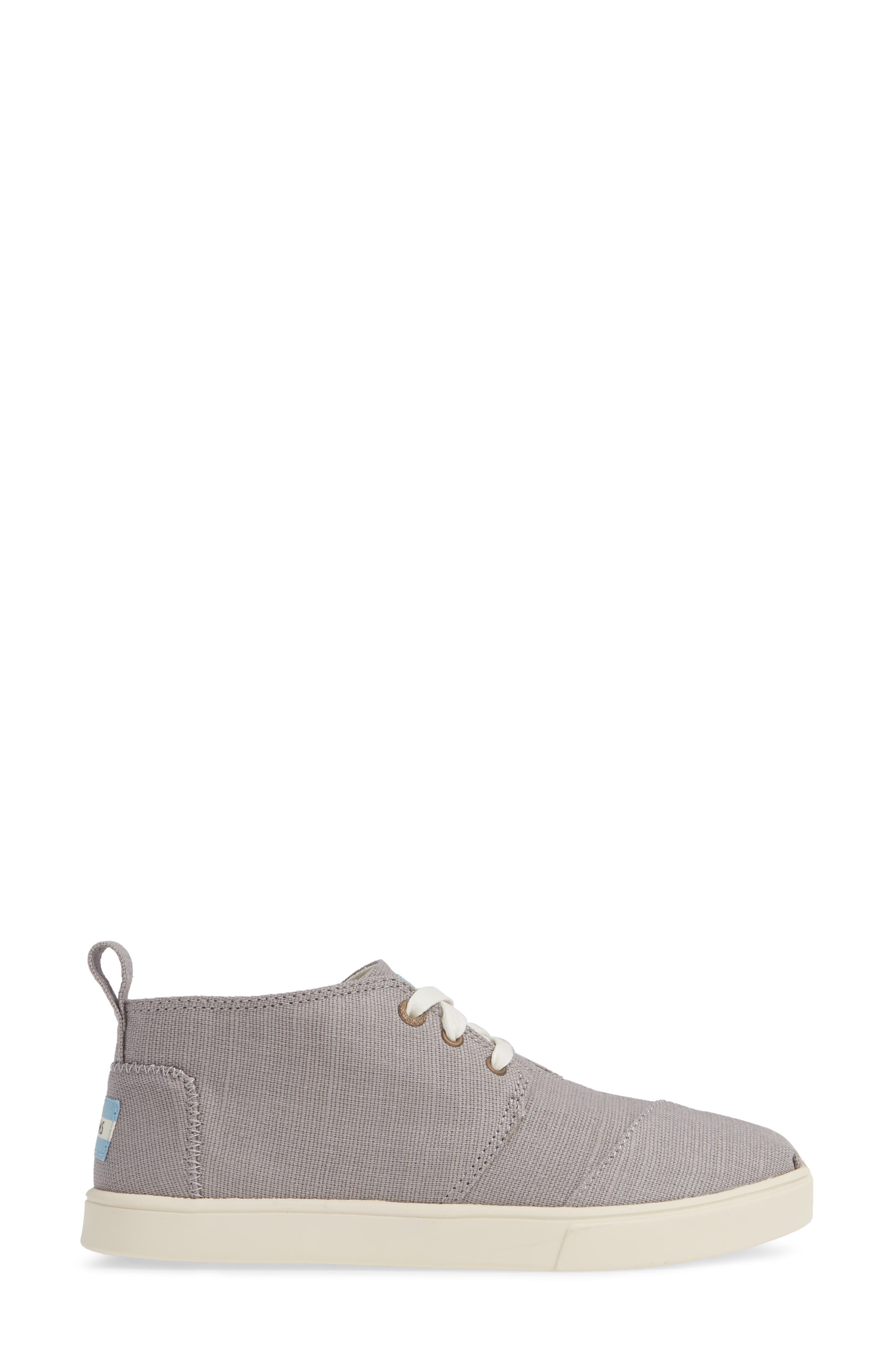TOMS,                             Bota Bootie,                             Alternate thumbnail 3, color,                             MORNING DOVE HERITAGE CANVAS