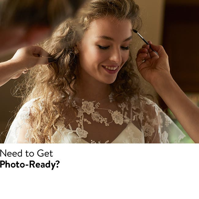 Beauty services: wedding makeup, stylists and skin care consultations.
