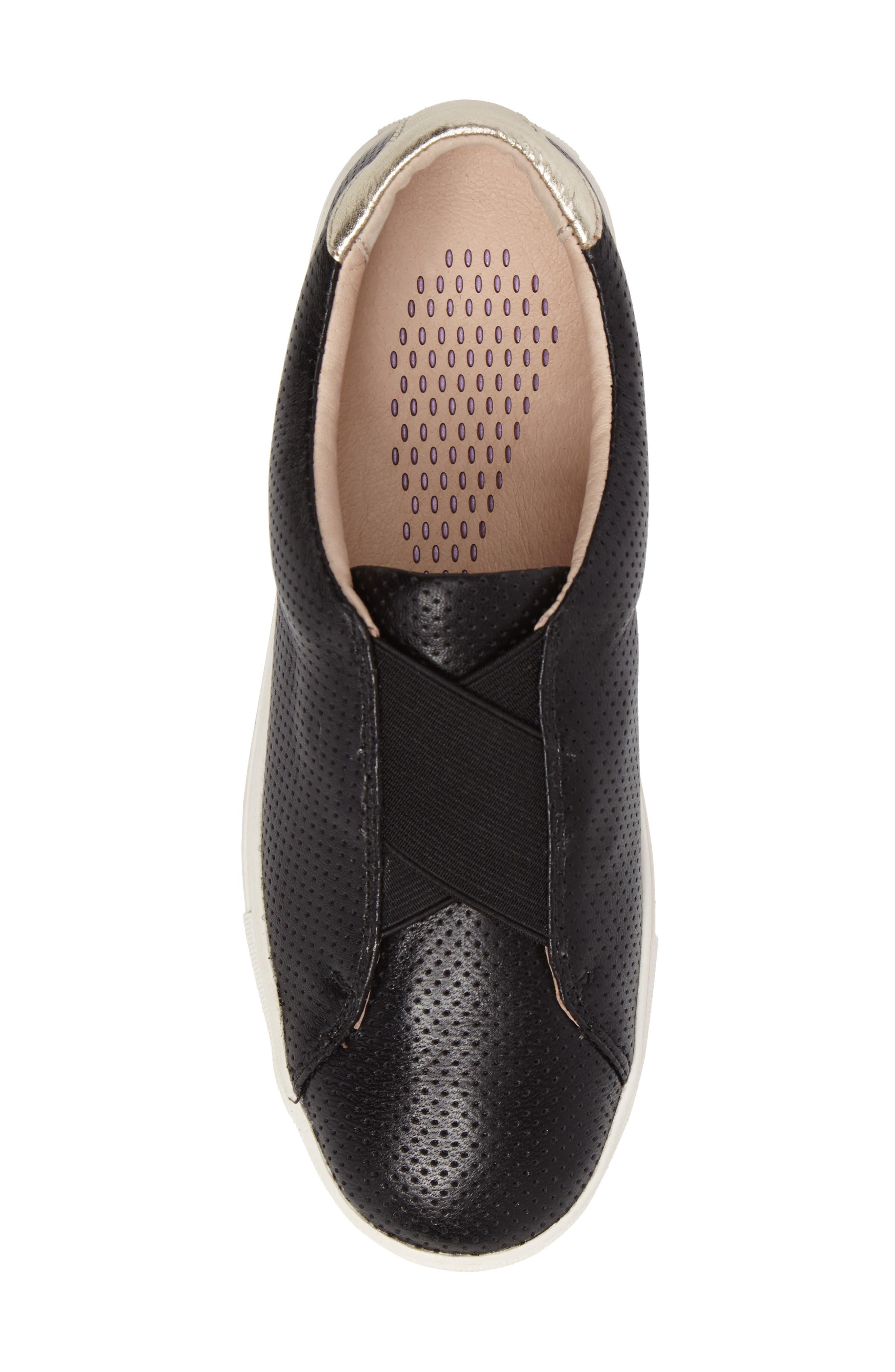 Sudina Giana Slip-On Sneaker,                             Alternate thumbnail 5, color,                             001