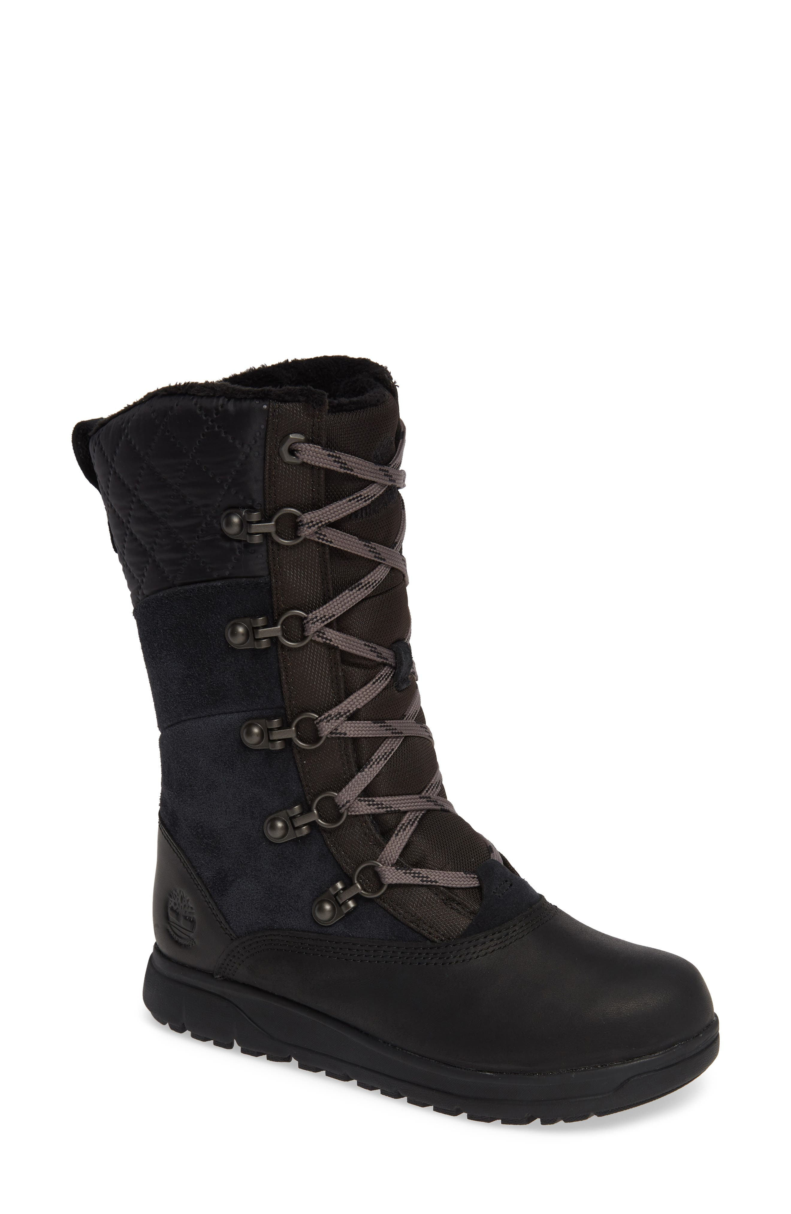 Haven Point Waterproof Boot,                             Main thumbnail 1, color,                             001