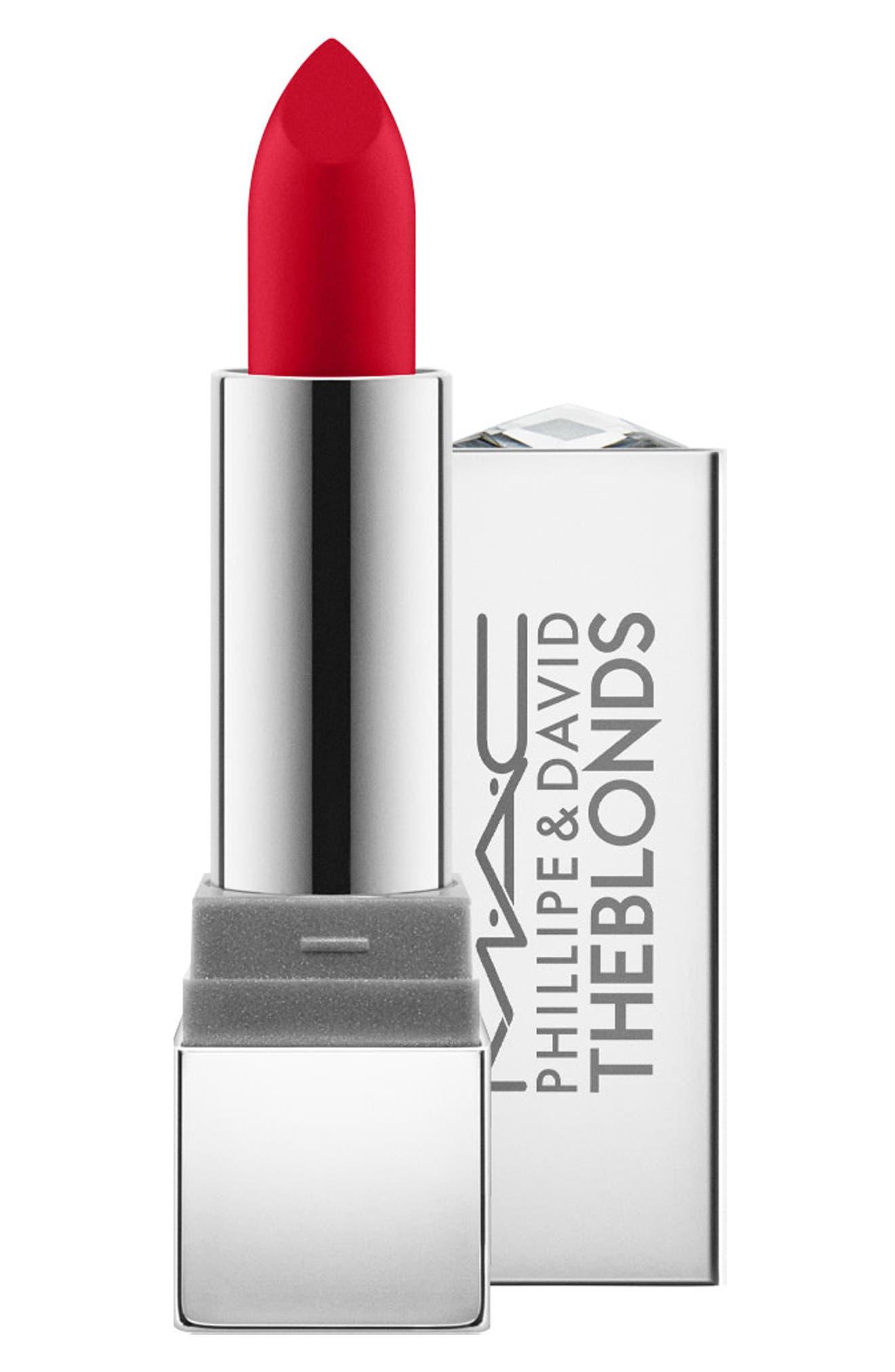 MAC The Blonds Lipstick,                             Main thumbnail 1, color,                             PHILLIPEBLOND