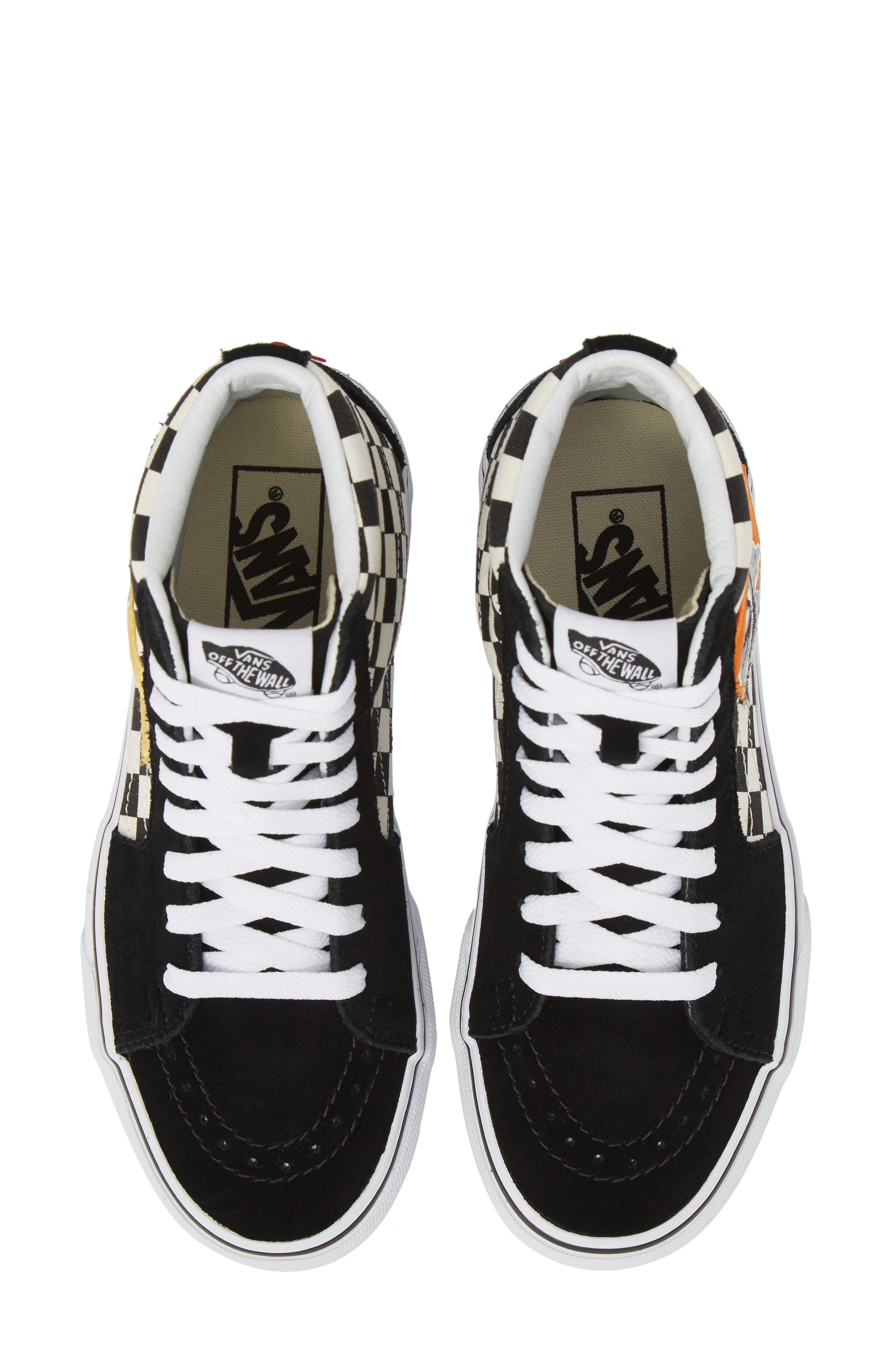 Sk8-Hi Checker Sneaker, Main, color, 003
