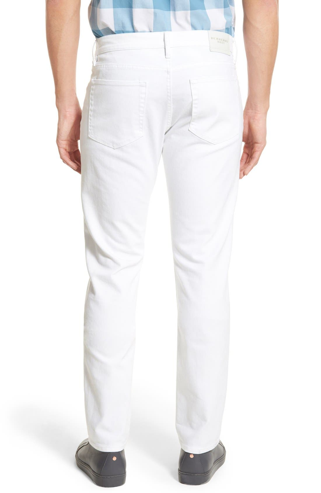 Slim Straight Leg Pants,                             Alternate thumbnail 6, color,