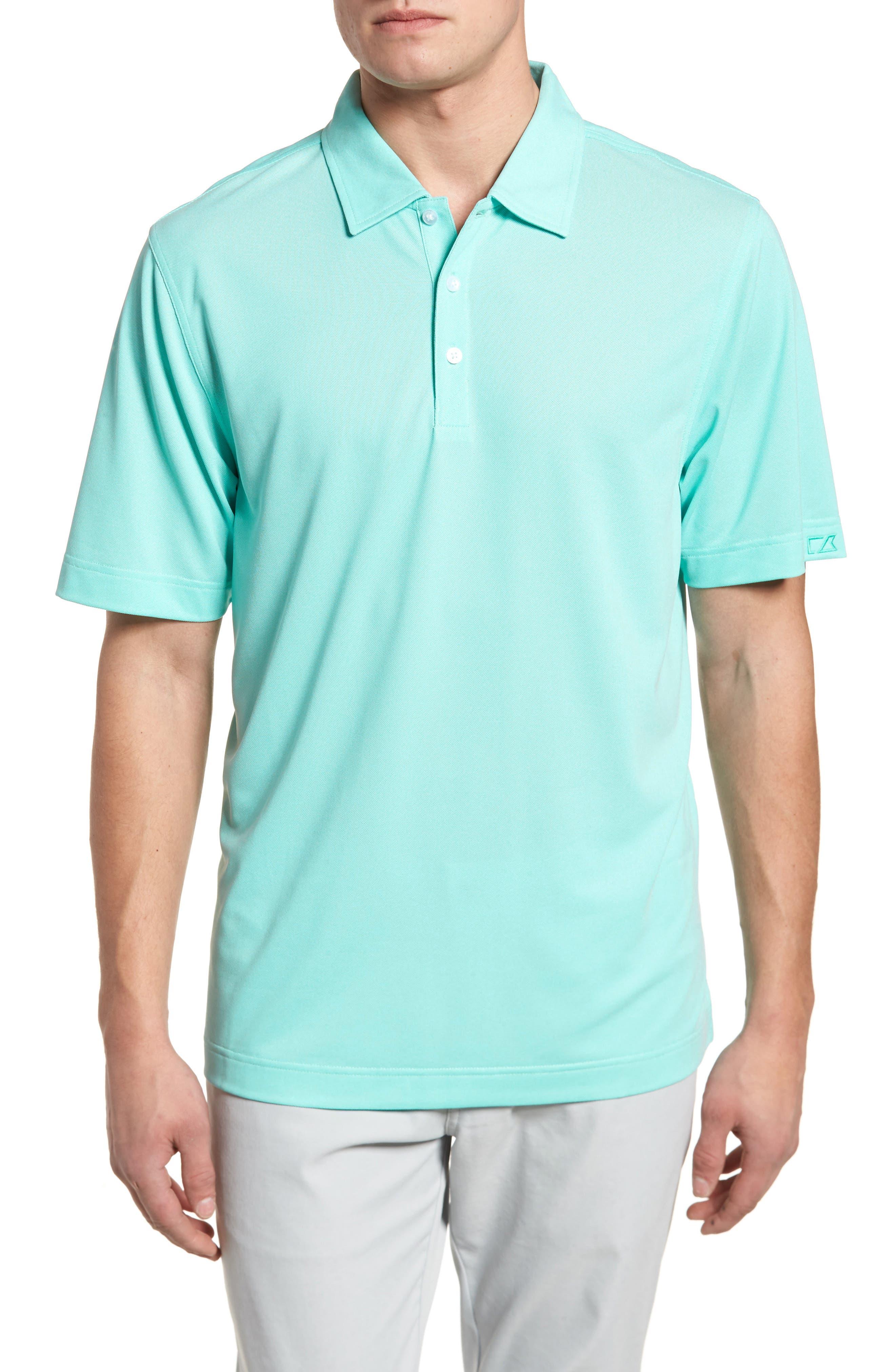 'Blaine Oxford' Moisture Wicking Dry Tec Polo,                         Main,                         color, 337