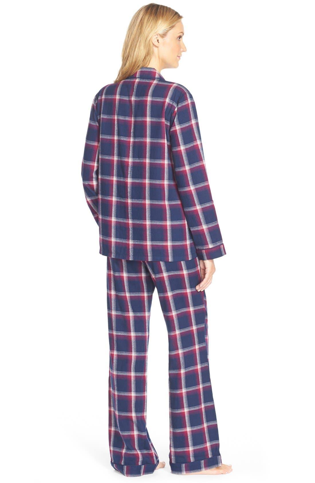 Cotton Twill Pajamas,                             Alternate thumbnail 24, color,