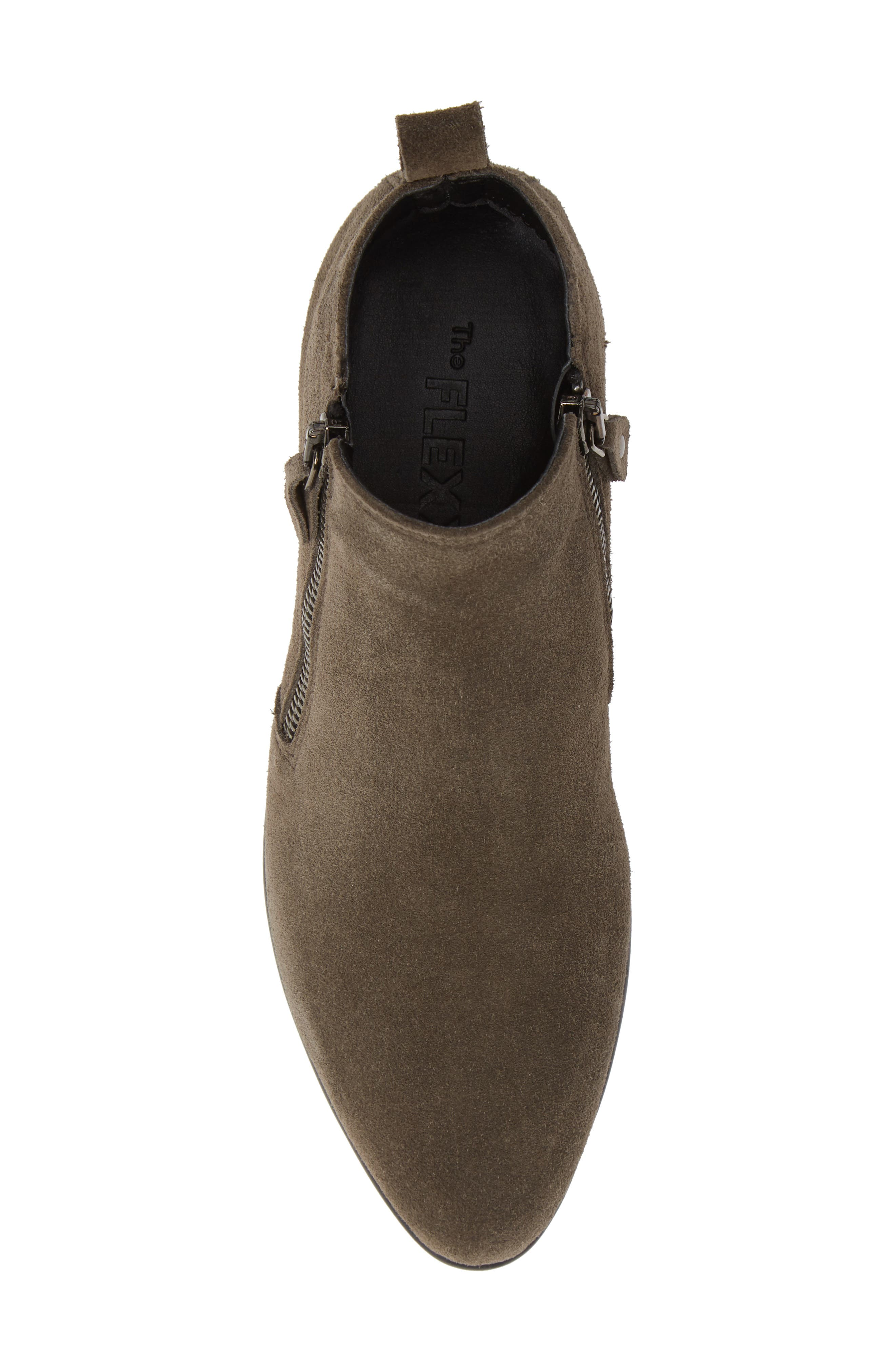 Hot Tamale Bootie,                             Alternate thumbnail 5, color,                             BROWN SUEDE