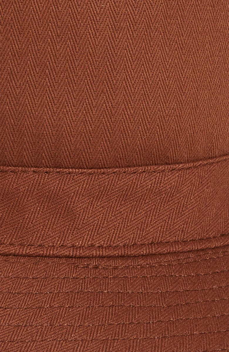 2a13ff4989f Shop Brixton Stowell Bucket Hat - Brown In Chesnut