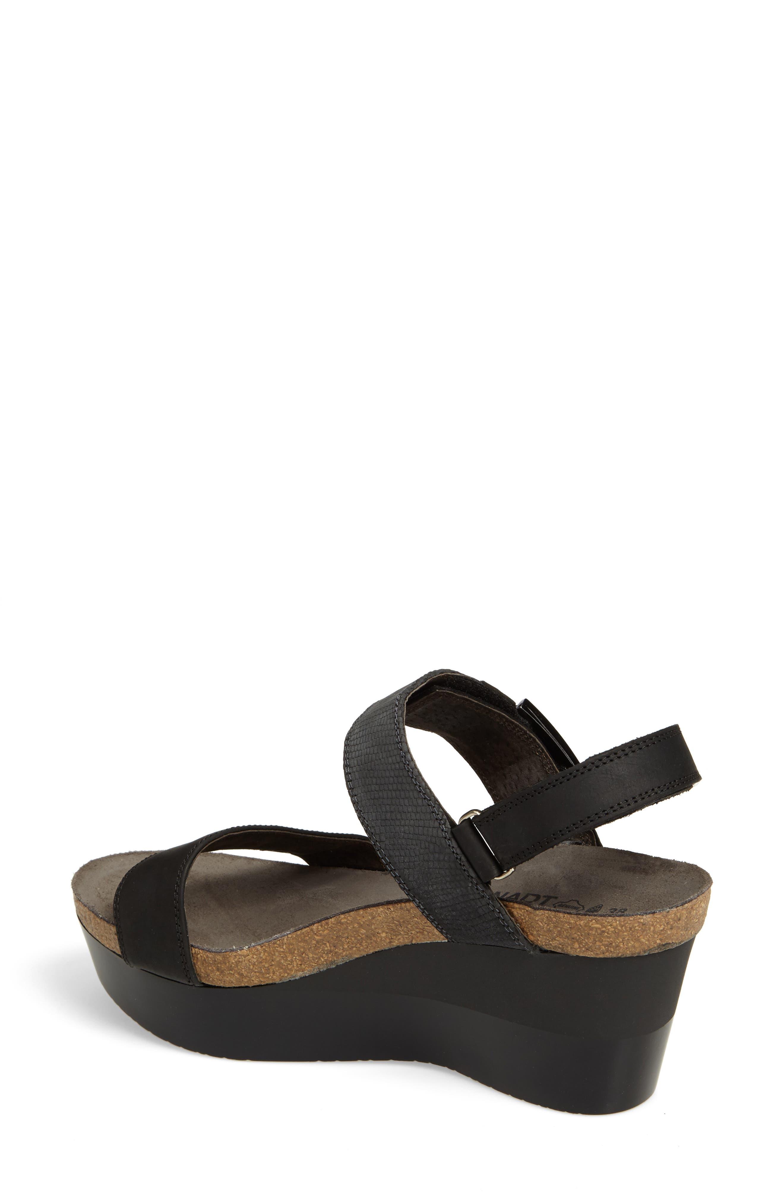 Alpha Platform Wedge Sandal Sandal,                             Alternate thumbnail 2, color,                             020