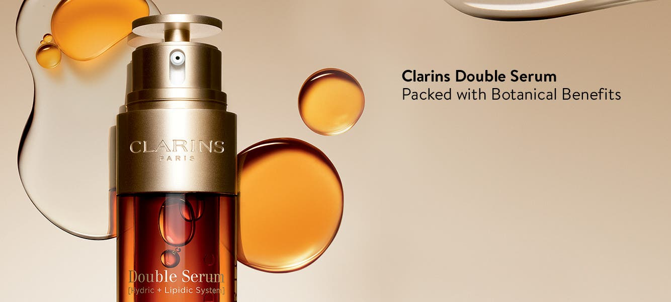Clarins Double Serum, packed with botanical benefits