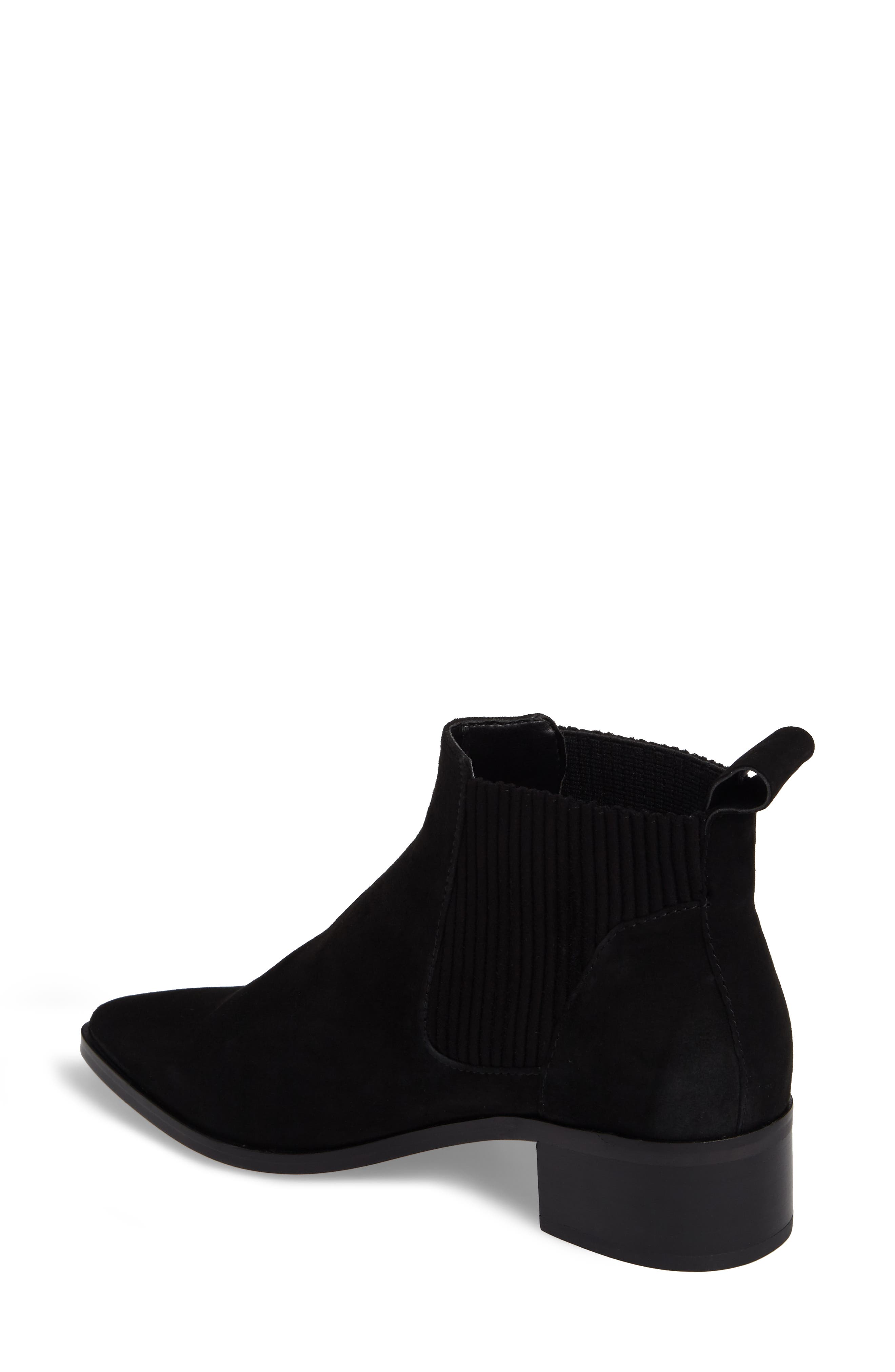 Macie Pointy Toe Chelsea Bootie,                             Alternate thumbnail 7, color,