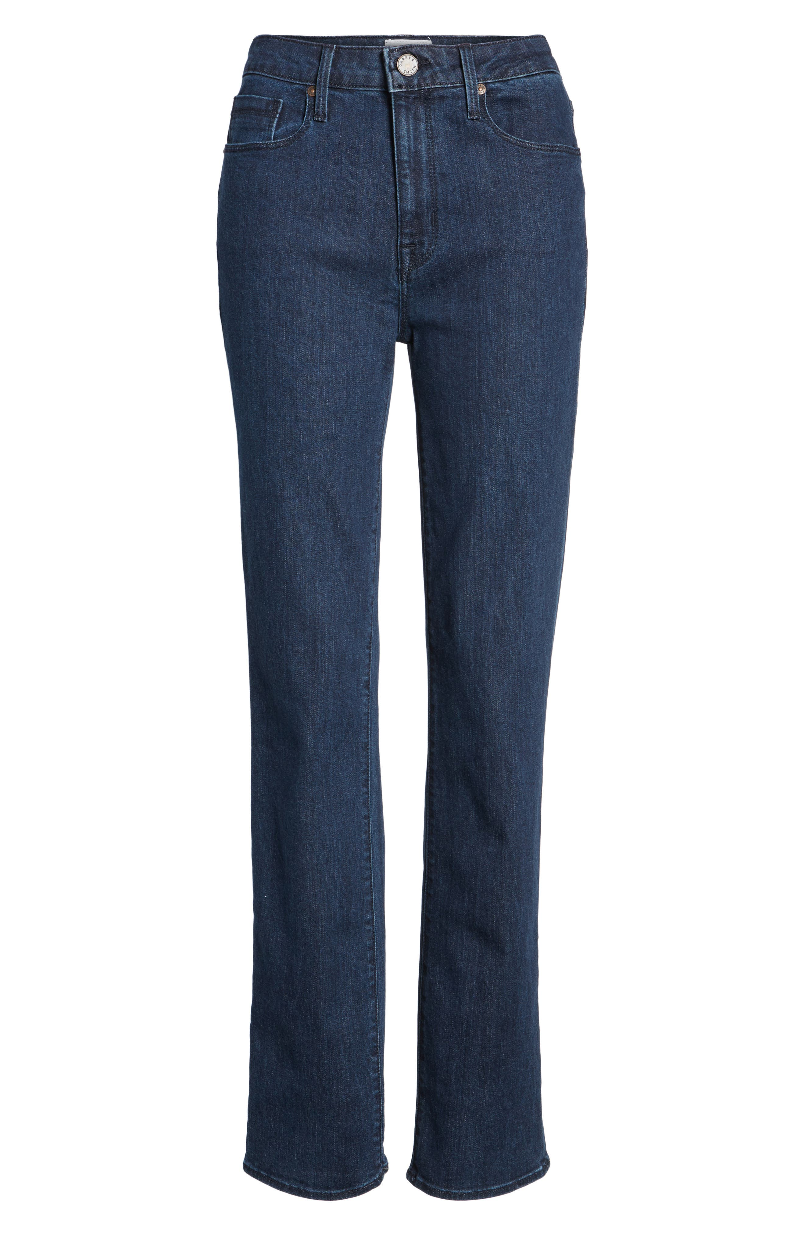Bombshell Runaround Straight Leg Jeans,                             Alternate thumbnail 6, color,                             405