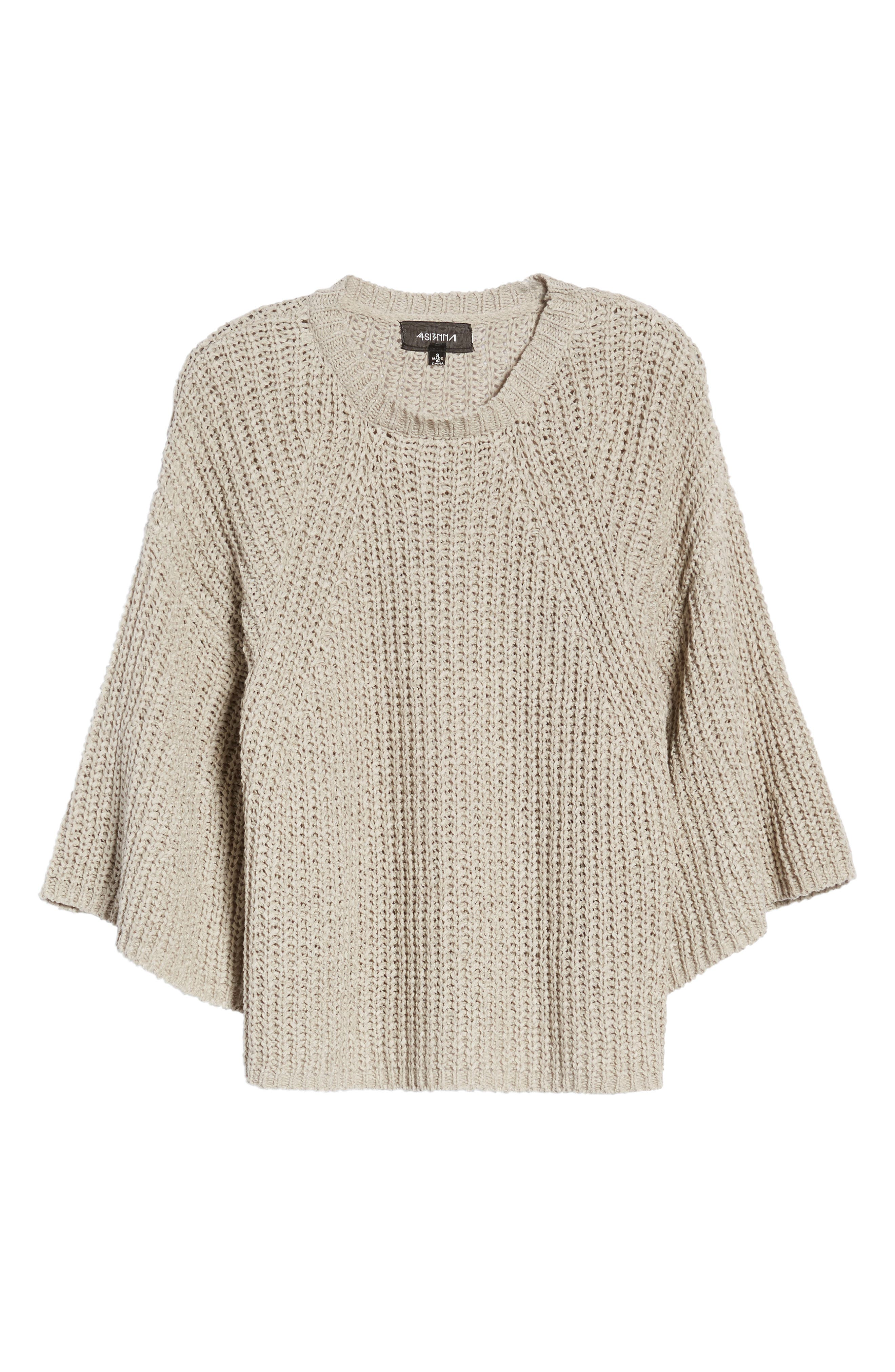 Bell Sleeve Sweater,                             Alternate thumbnail 7, color,                             280