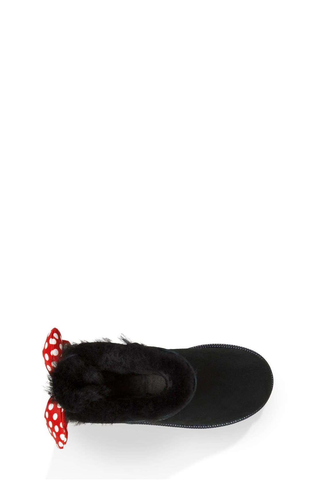 Disney<sup>®</sup> 'Sweetie Bow' Boot,                             Alternate thumbnail 4, color,                             001