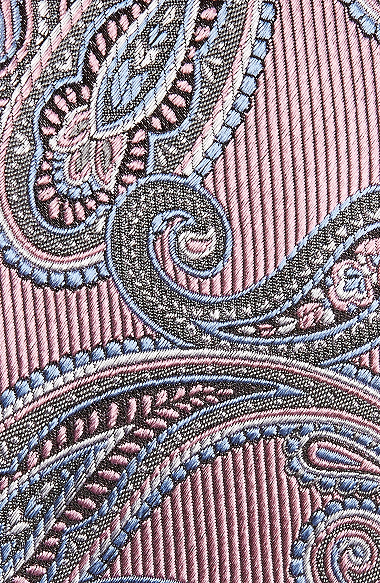 Paisley Silk Tie,                             Alternate thumbnail 8, color,