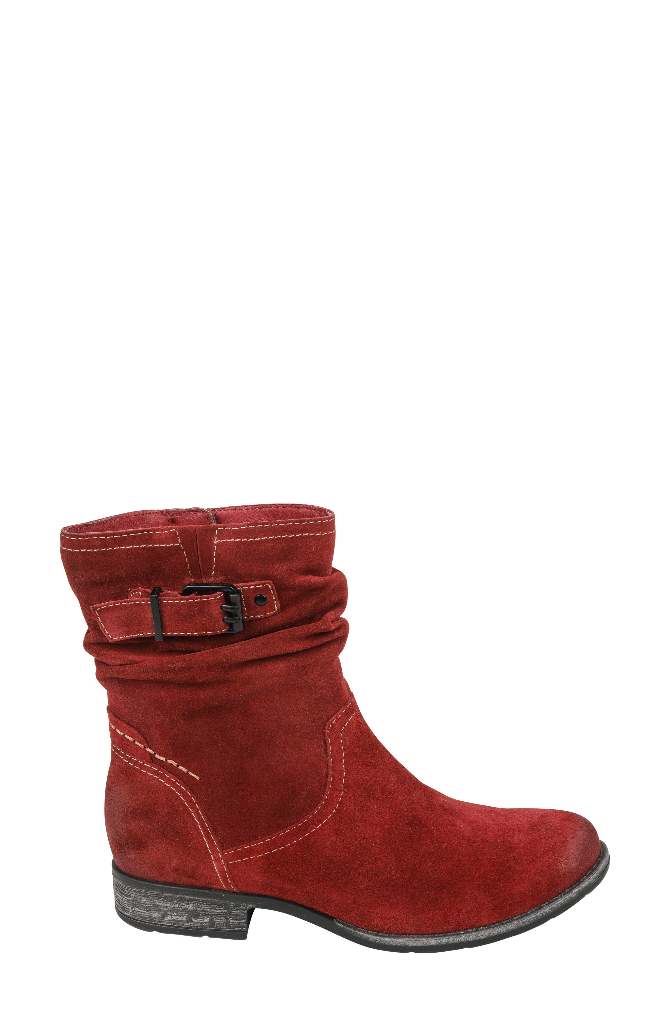 Beaufort Boot,                             Alternate thumbnail 3, color,                             GARNET SUEDE