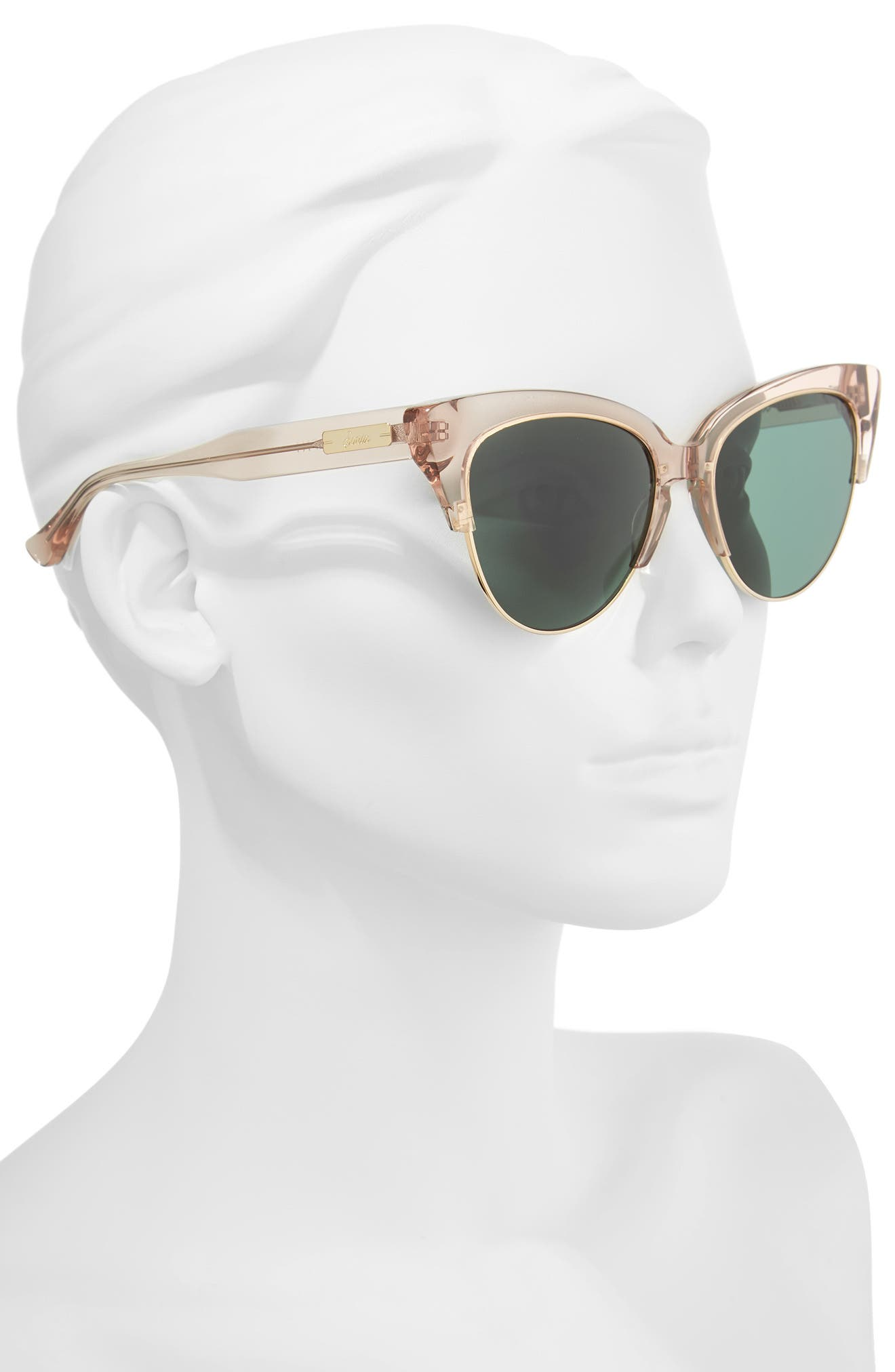 Dafni 56mm Gradient Cat Eye Sunglasses,                             Alternate thumbnail 6, color,