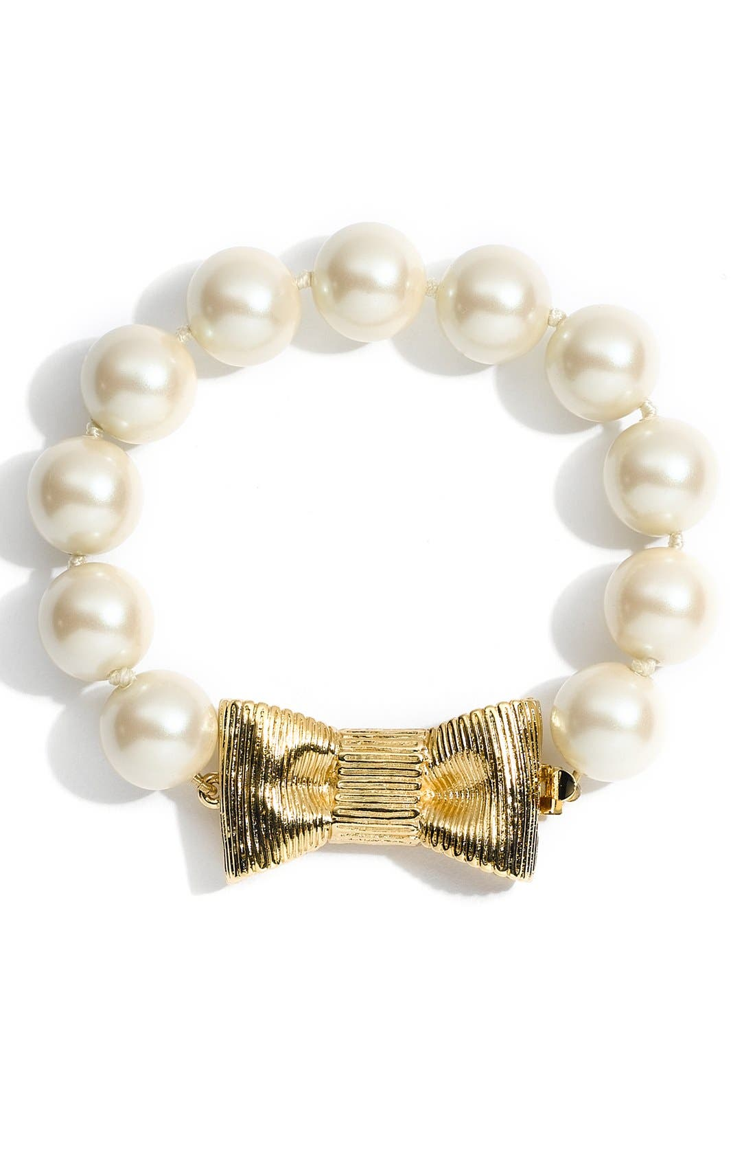 'all wrapped up' glass pearl bracelet,                             Alternate thumbnail 2, color,                             900