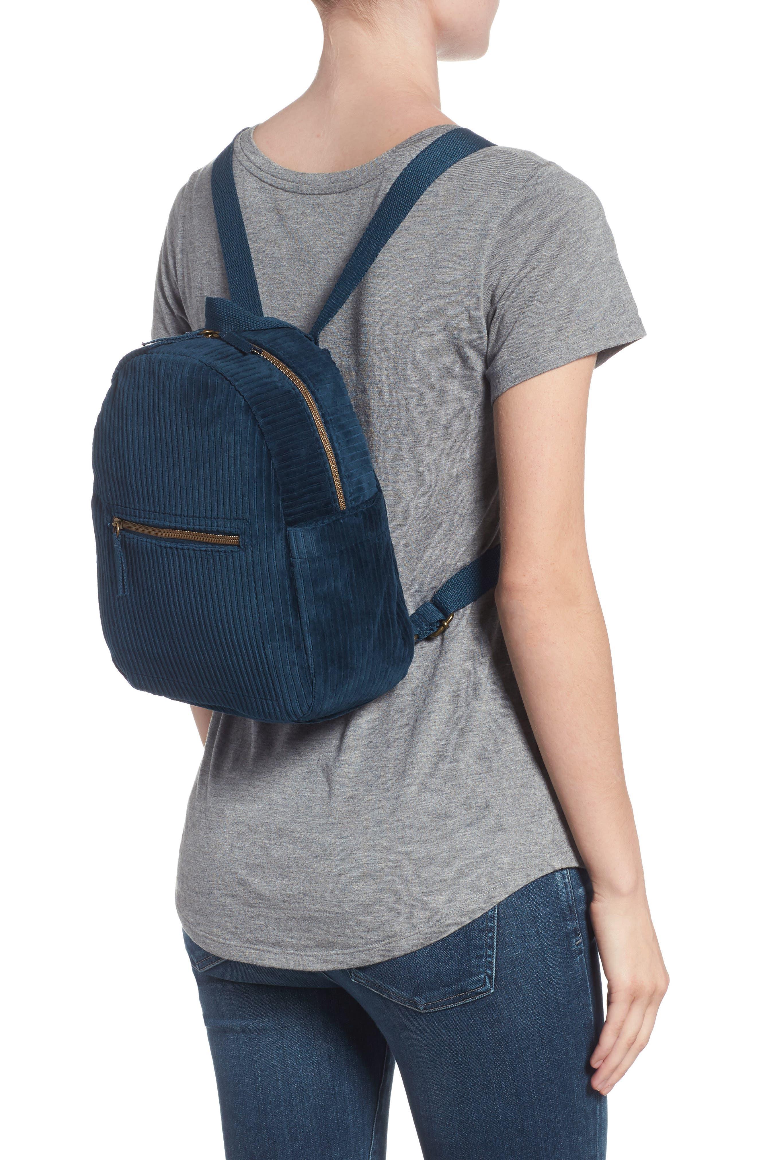 Corduroy Mini Backpack,                             Alternate thumbnail 2, color,                             440
