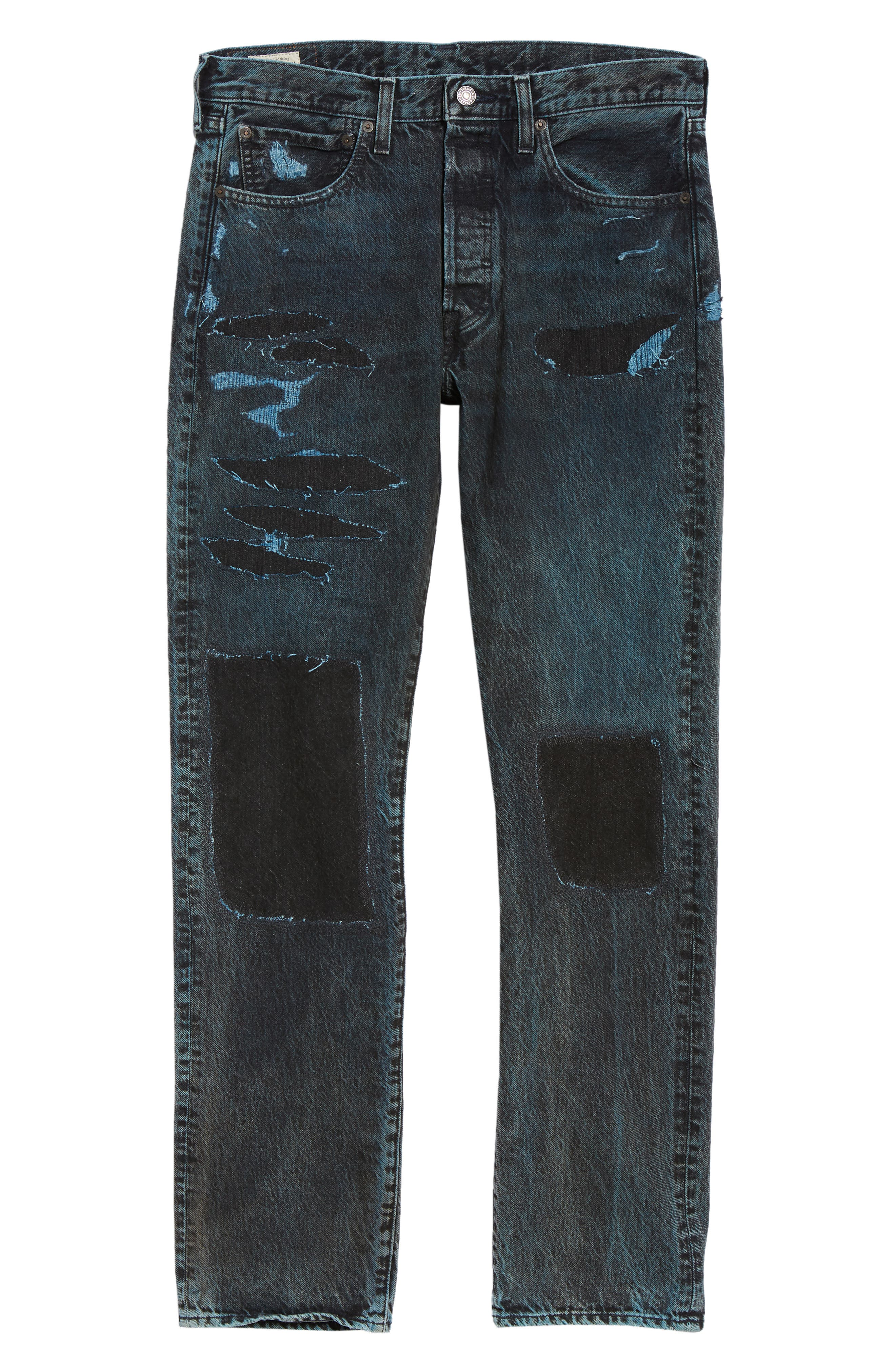 501<sup>®</sup> Straight Leg Jeans,                             Alternate thumbnail 6, color,                             SOULSIDE WARP STRETCH