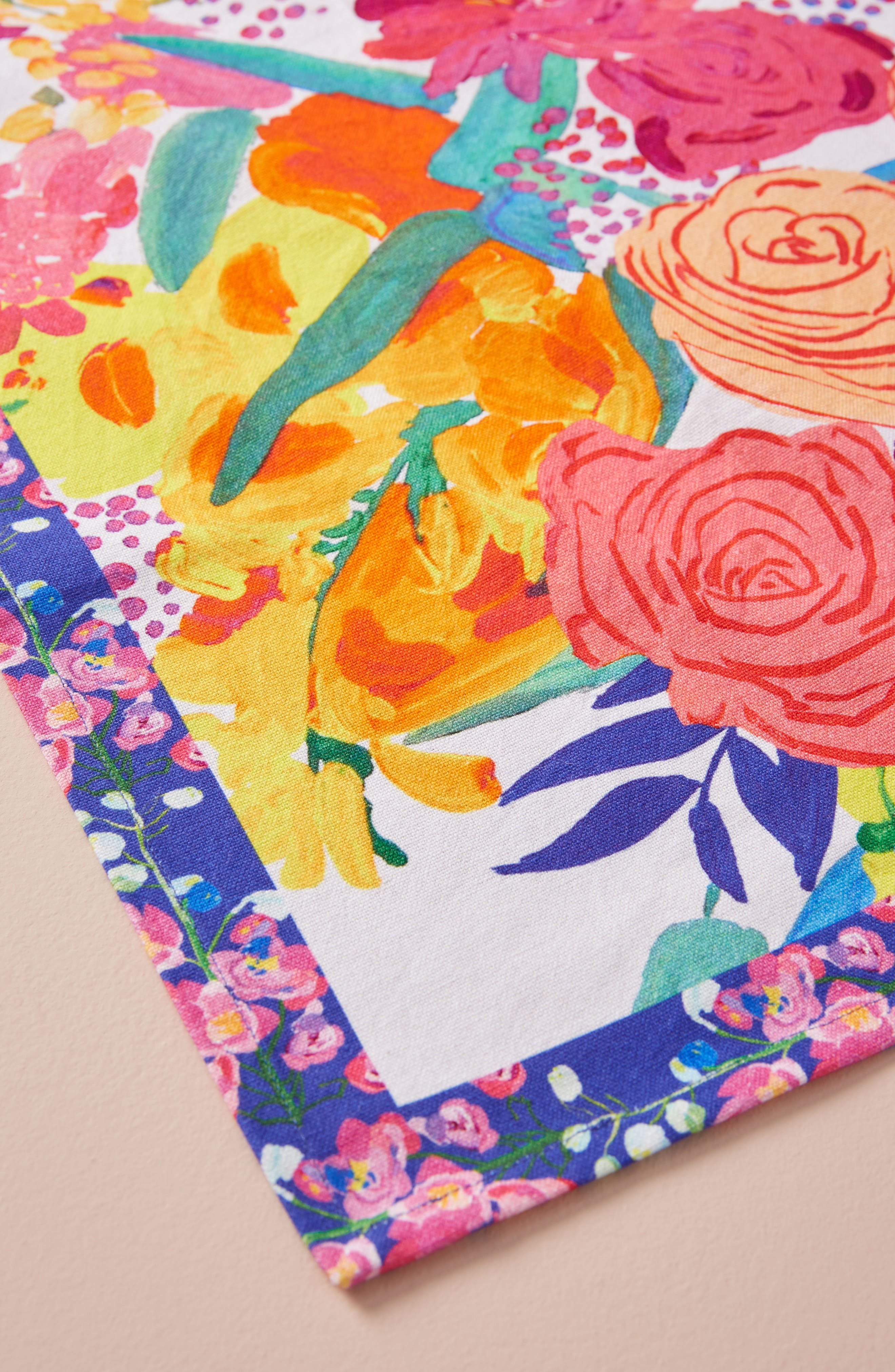 Paint + Petals Dishtowel,                             Alternate thumbnail 2, color,                             650